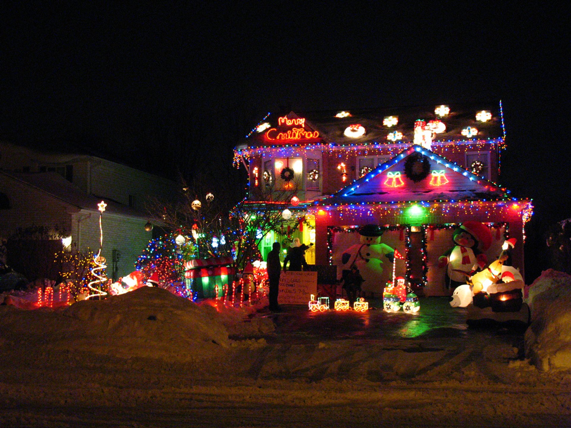 Best time for Christmas Lights in London, Ontario in Ontario 2019