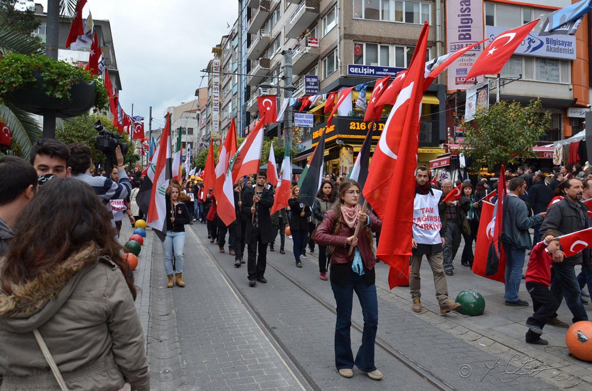 Cumhuriyet Bayramı or Republic Day in Istanbul 2020 - Best Time