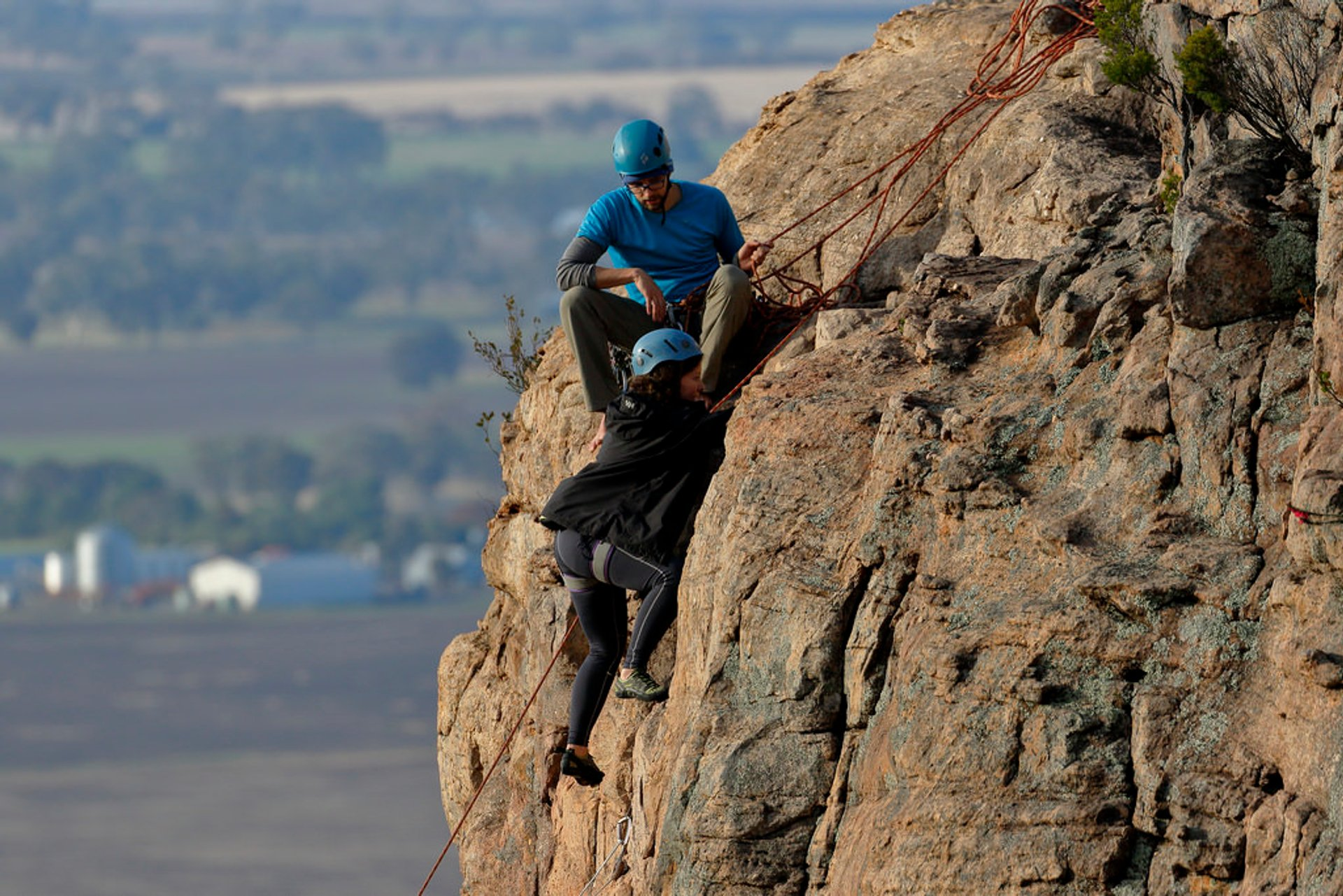 Rock Climbing in Mount Arapiles 2020