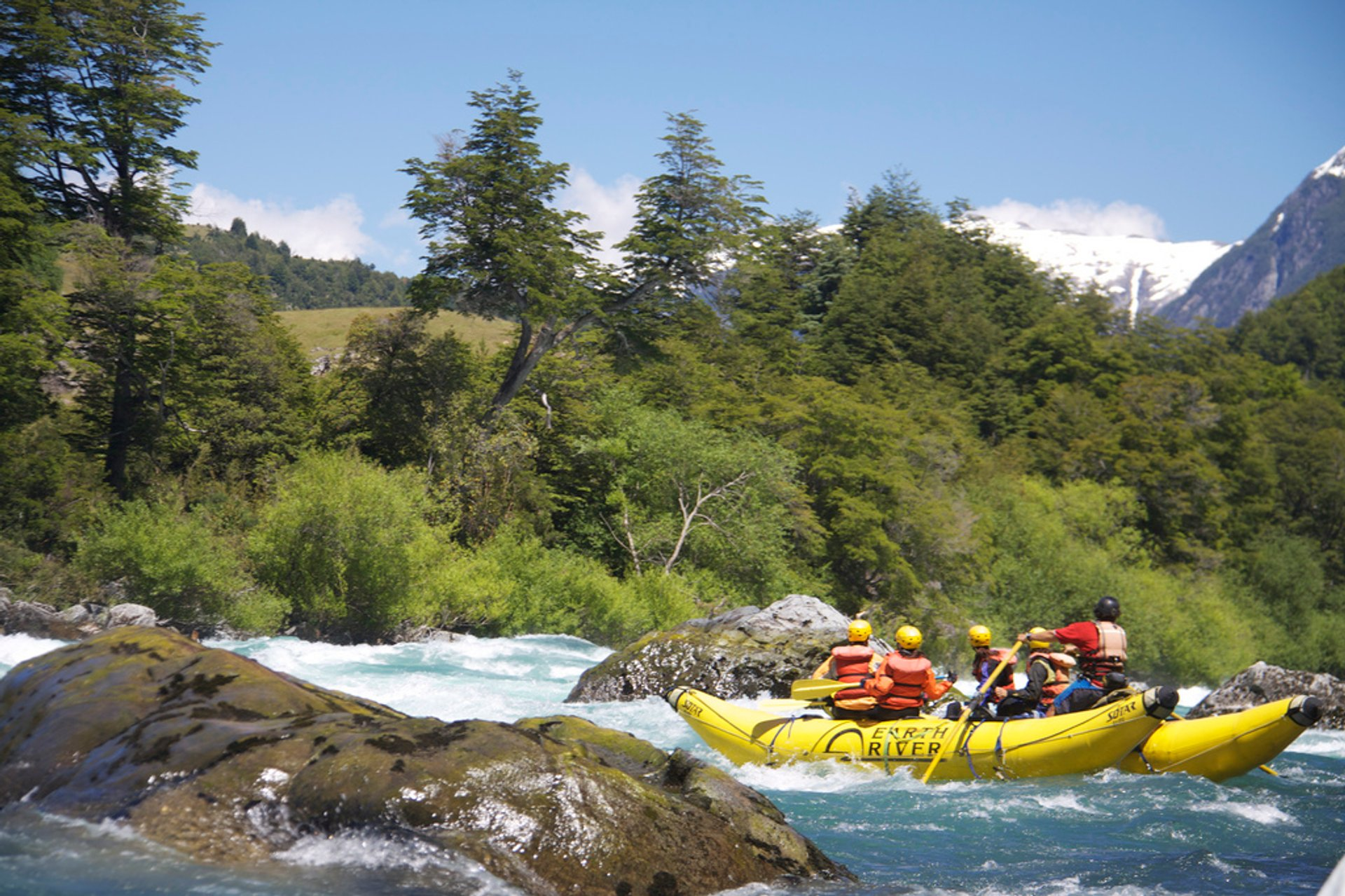 White Water Rafting in Patagonia - Best Season 2020