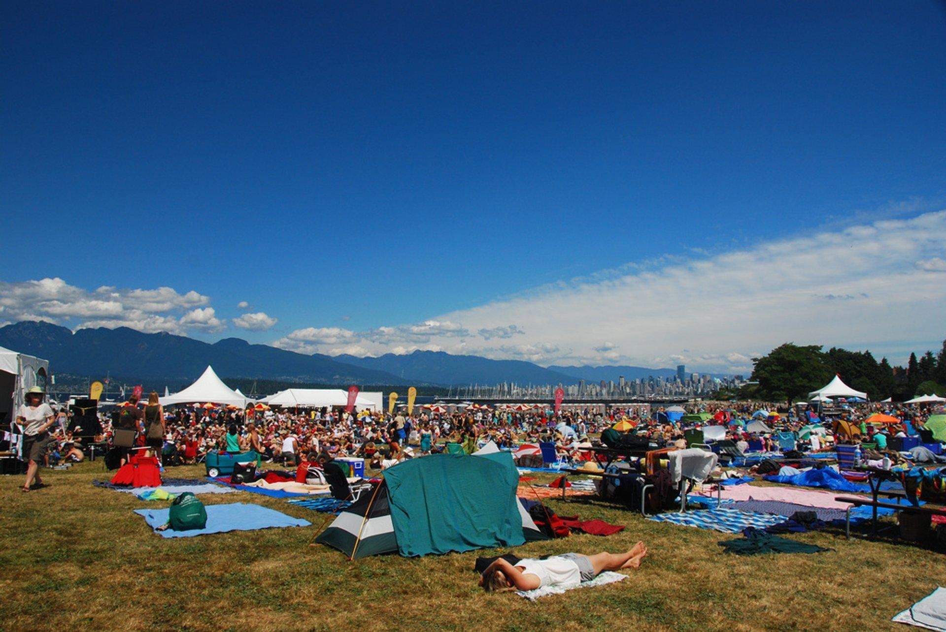 Vancouver Folk Music Festival in Vancouver - Best Season