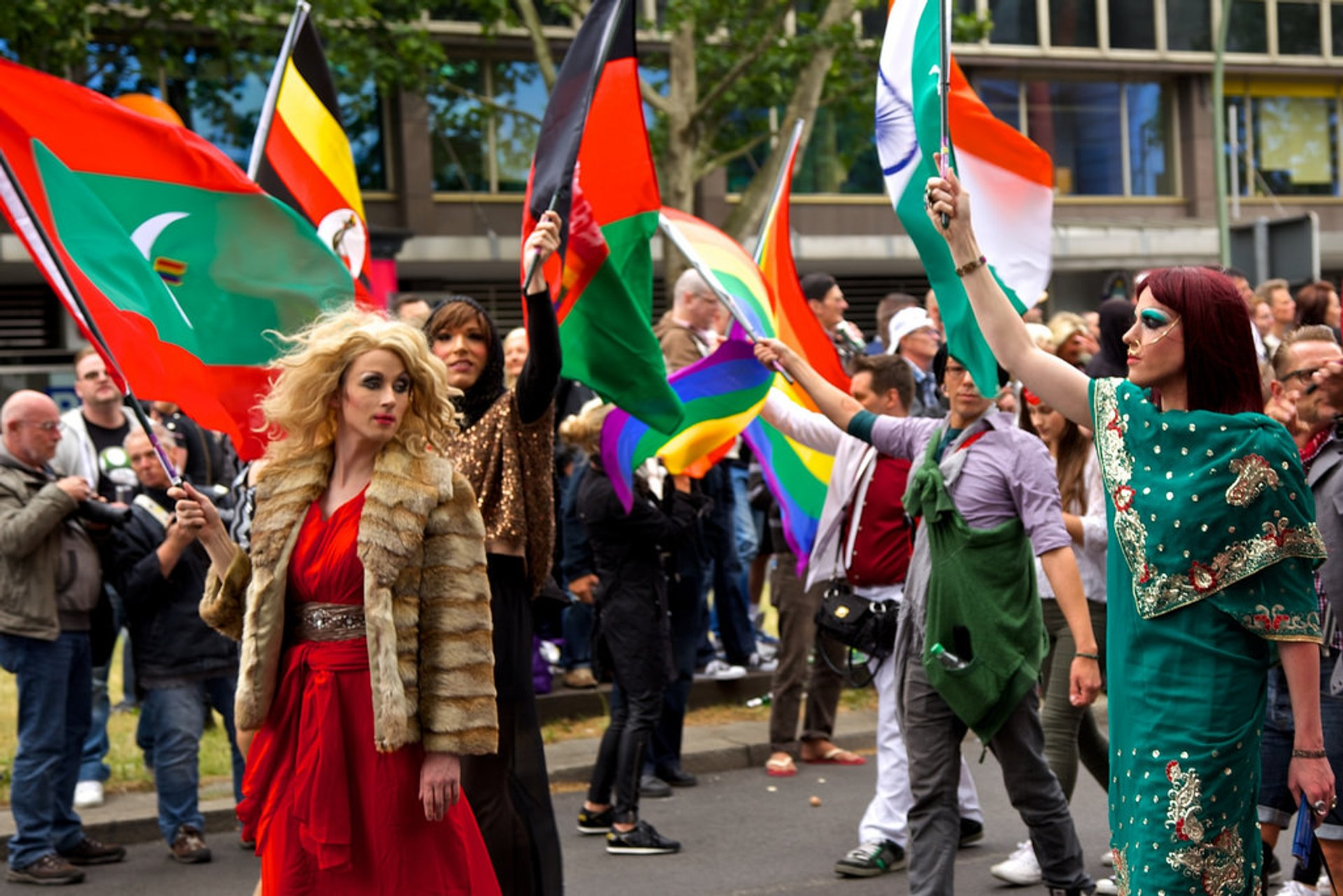 CSD Berlin or Berlin Pride in Berlin - Best Season 2020