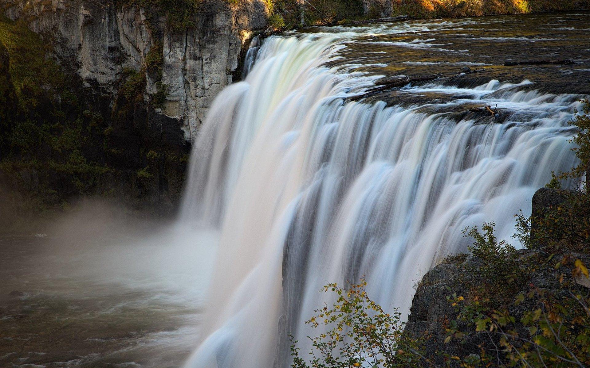Upper Mesa Falls 2020