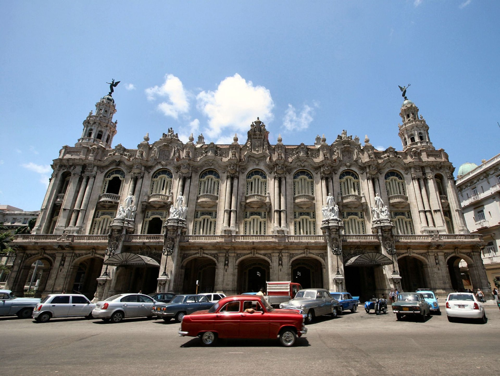 The Great Theatre of Havana (Gran Teatro de La Habana) 2020