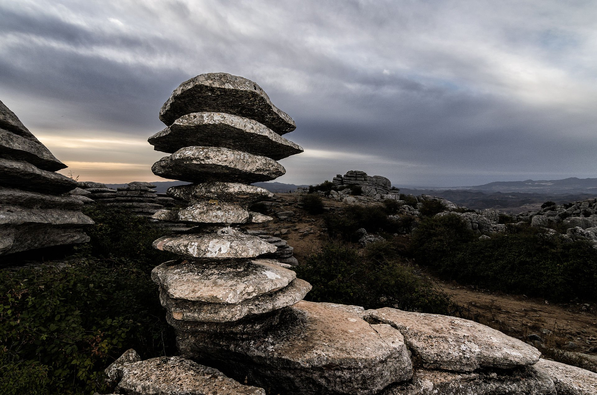 Best time for El Torcal de Antequera National Park in Spain 2020