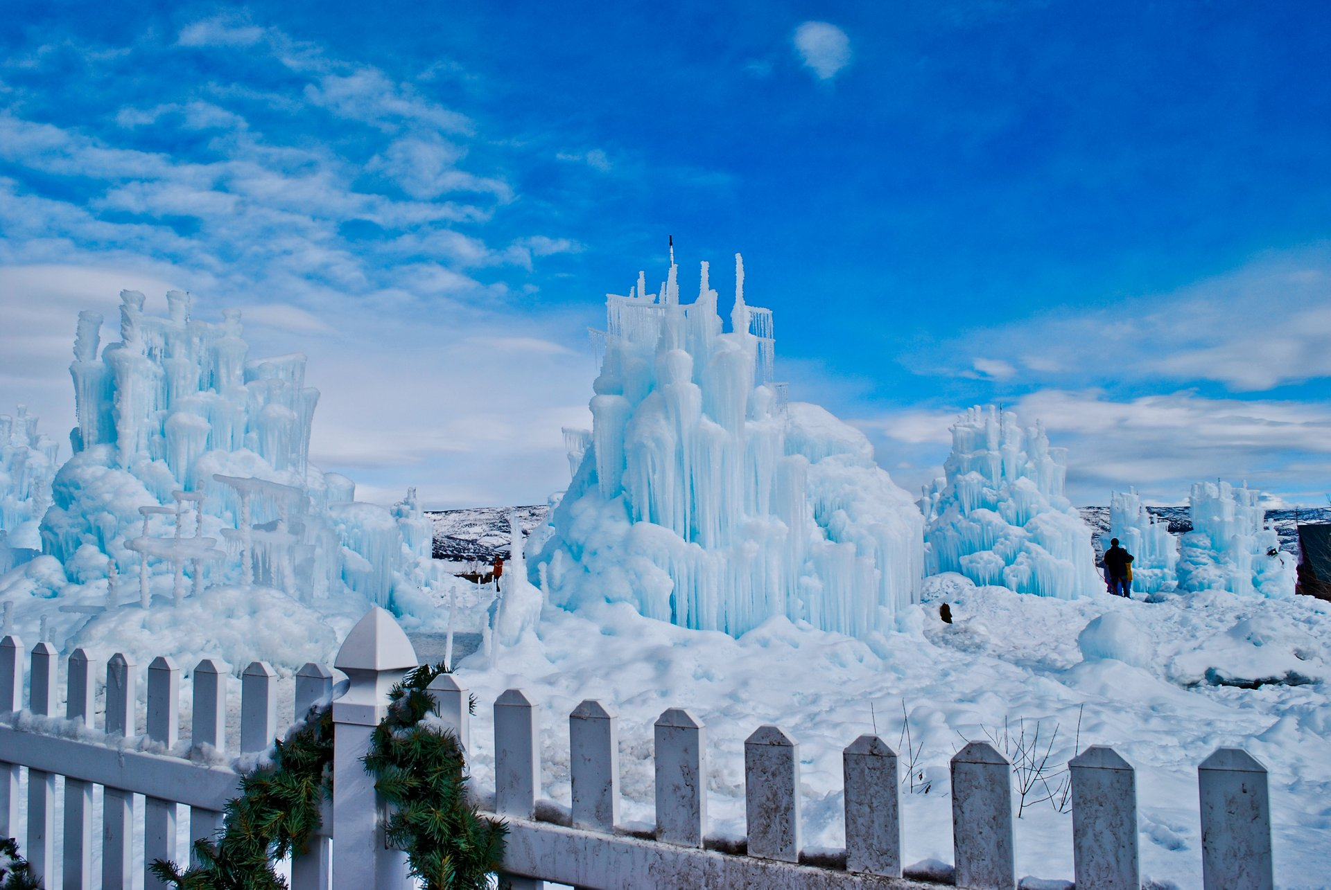 Ice Castle in Midway, Utah 2019