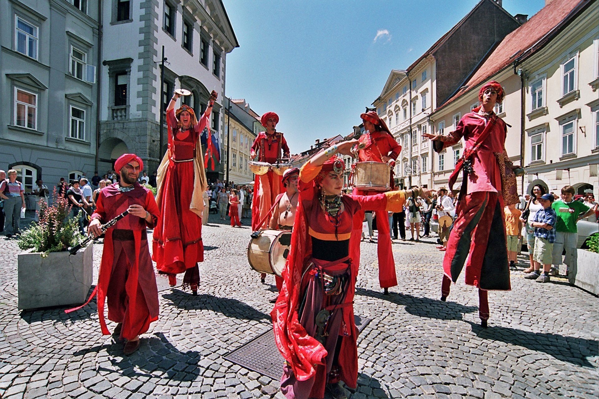 Ana Desetnica International Street Theatre Festival in Slovenia 2019 - Best Time