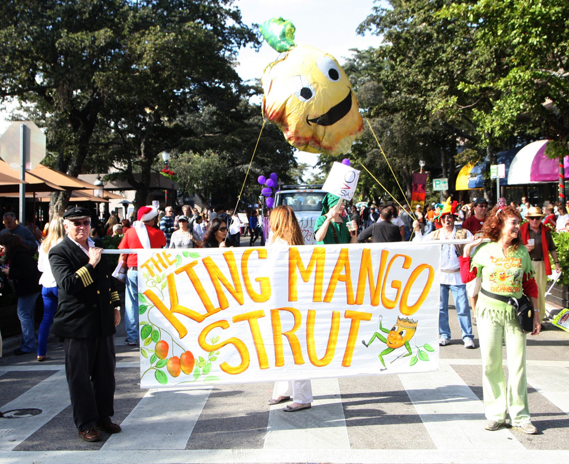 King Mango Strut in Miami - Best Time