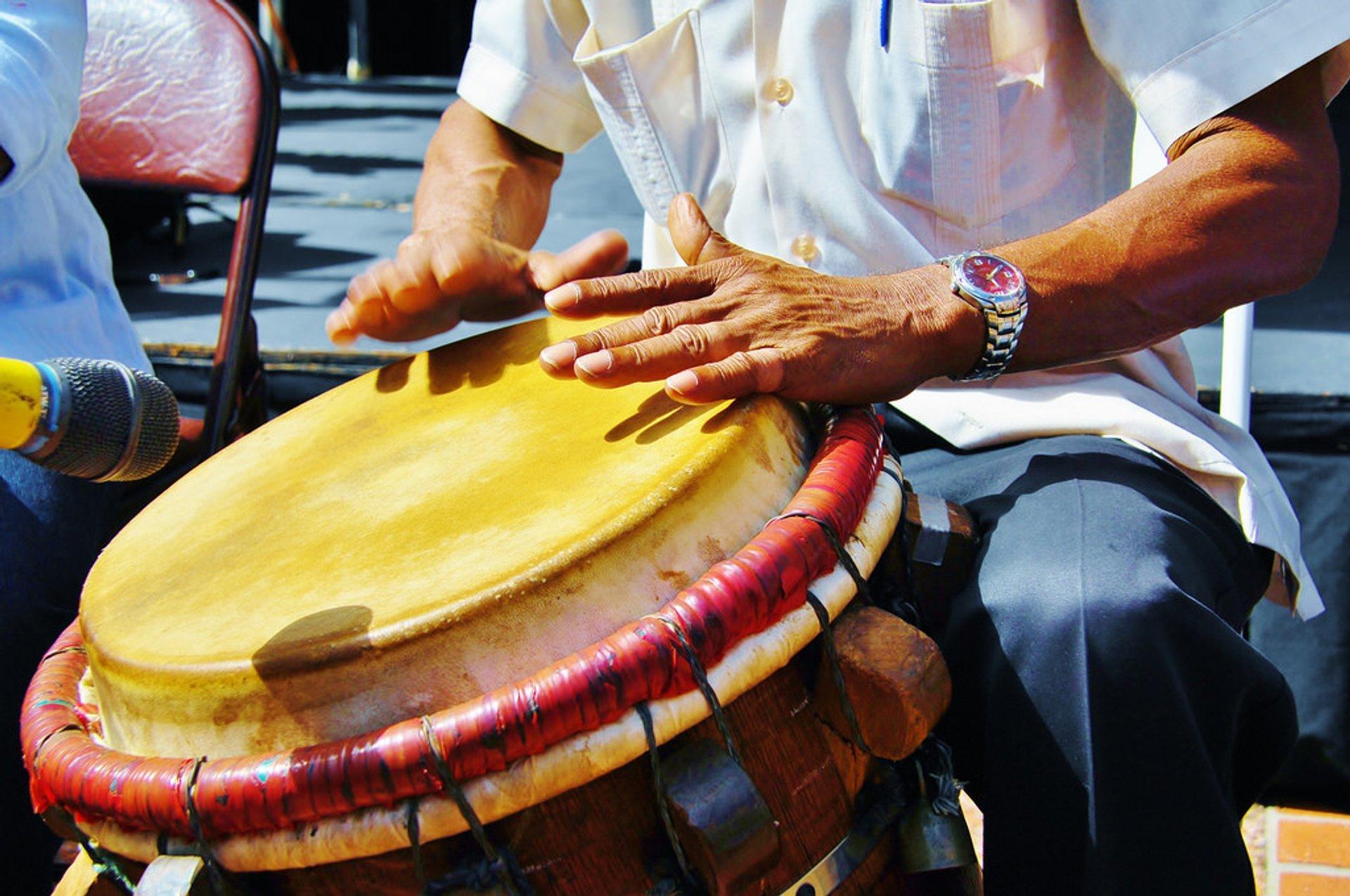 Best time for San Sebastian Street Festival in Puerto Rico 2020