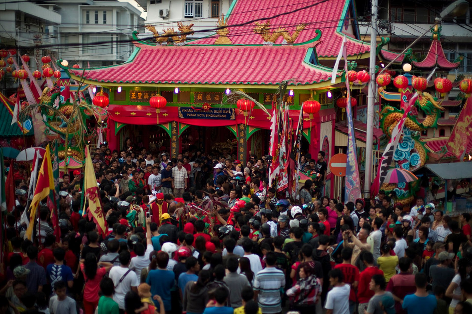 Best time for Cap Go Meh (Tatung) in Borneo 2020