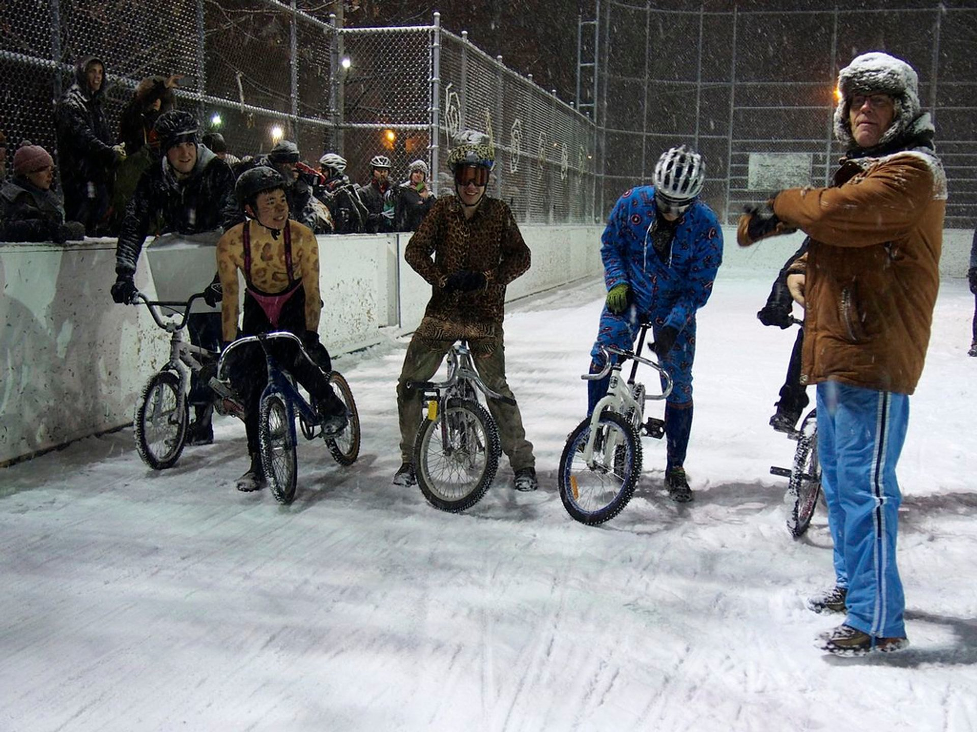 Icycle Race in Toronto 2020 - Best Time