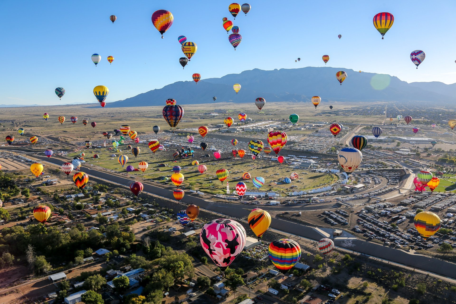 Albuquerque International Balloon Fiesta in New Mexico 2020 - Best Time