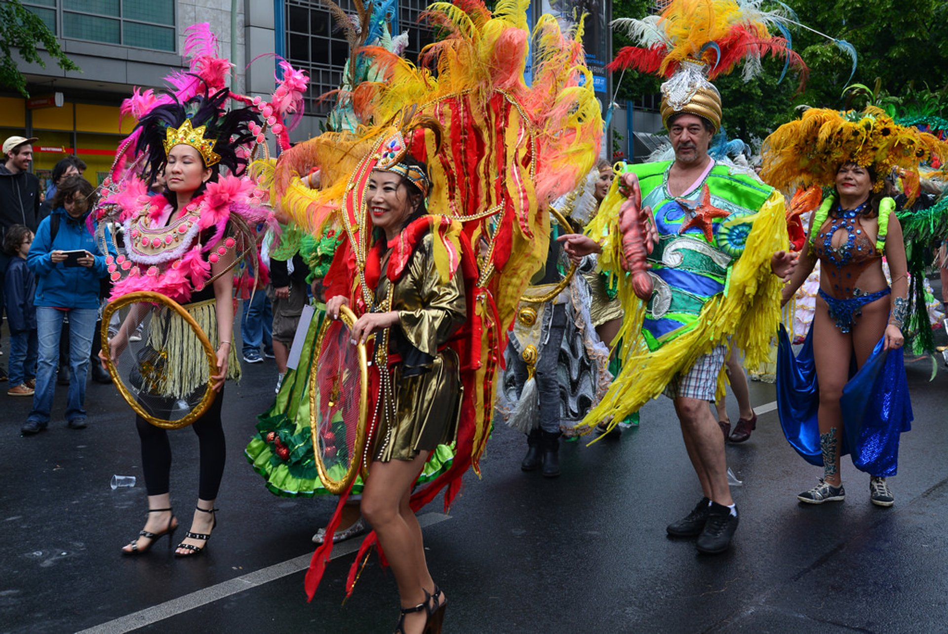 Best time to see Carnival of Cultures 2019