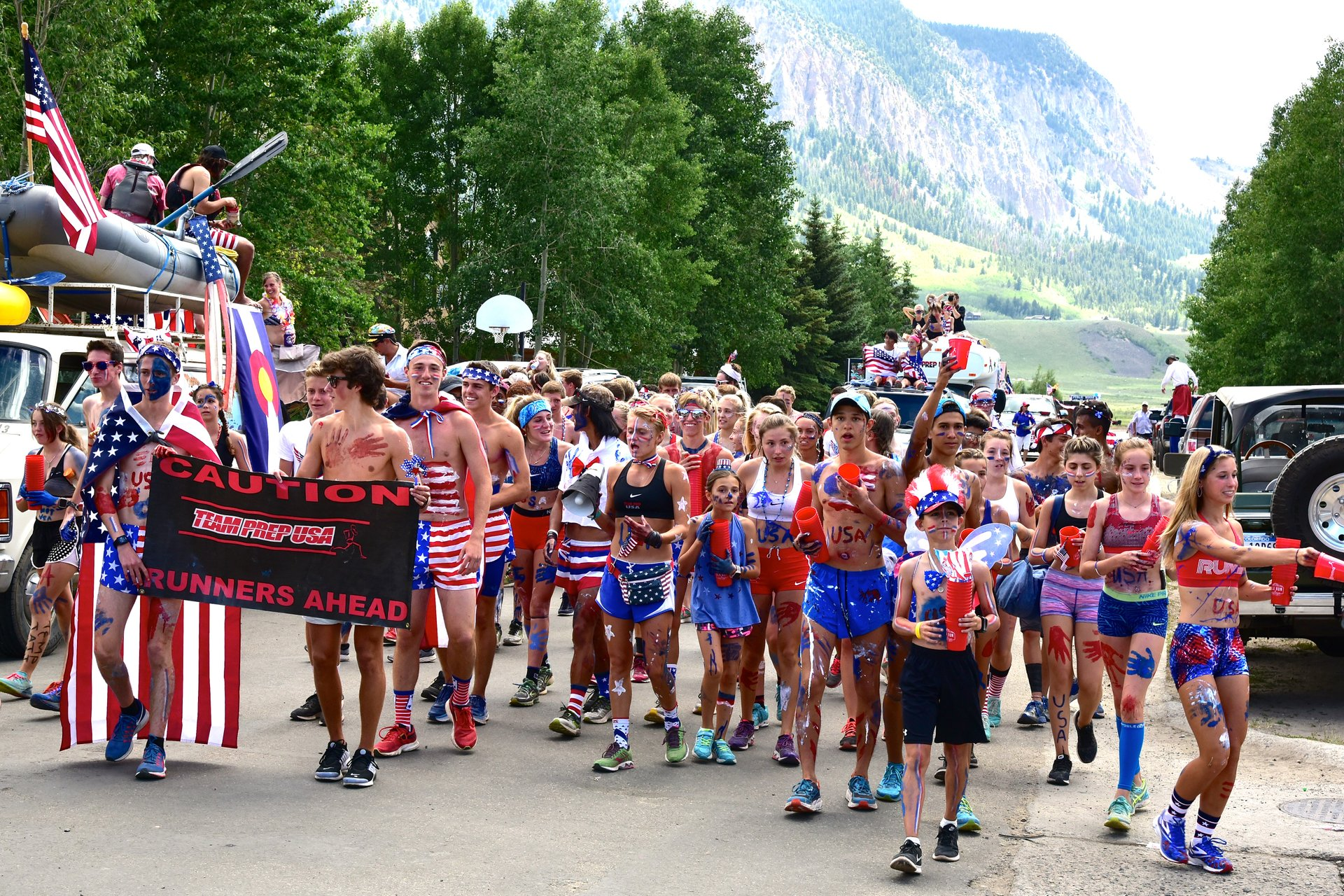 4th of July Parade in Crested Butte, Colorado   2020