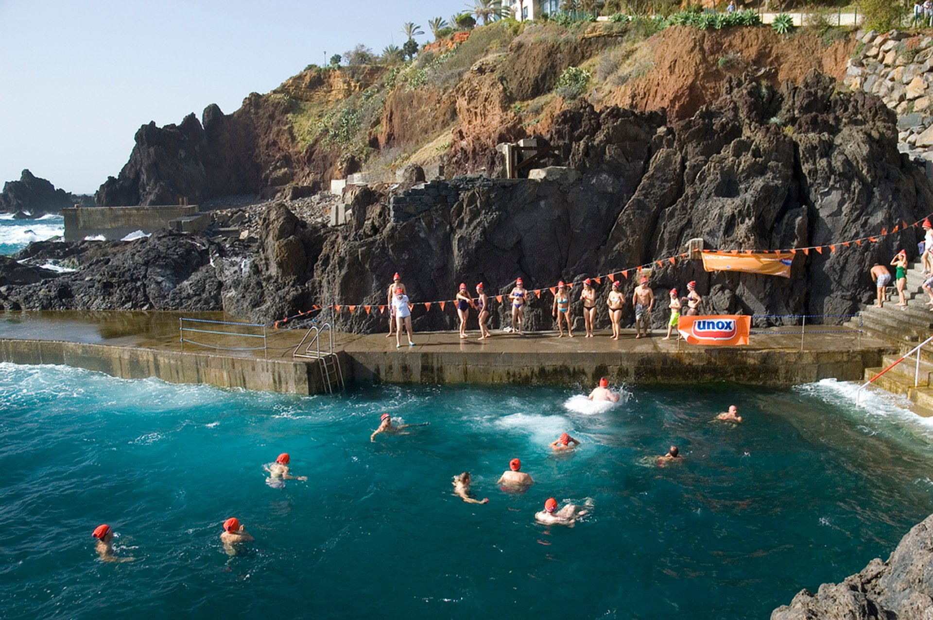 Best time for Madeira Plunge in Madeira 2019