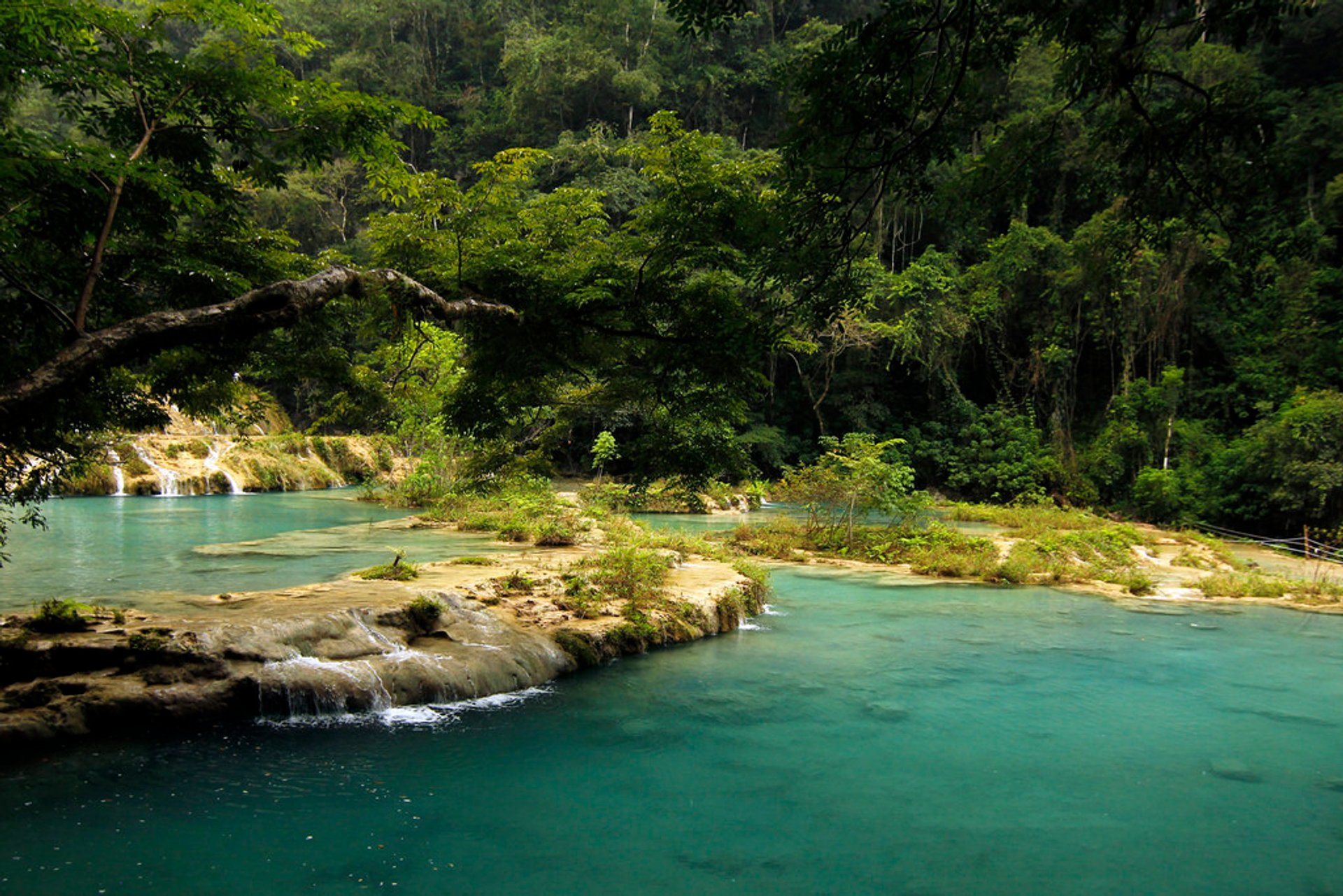 Best time for Semuc Champey: Natural Pool Staircase in Guatemala