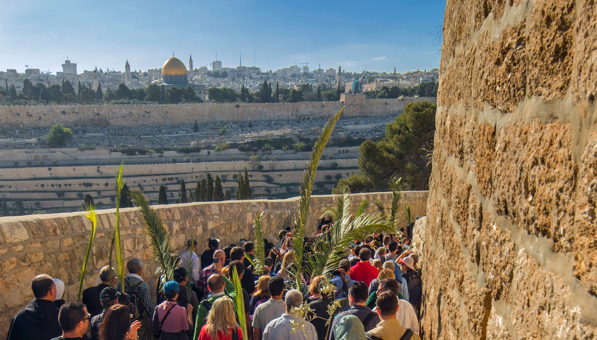 Best time for Holy Week & Easter in Jerusalem 2020