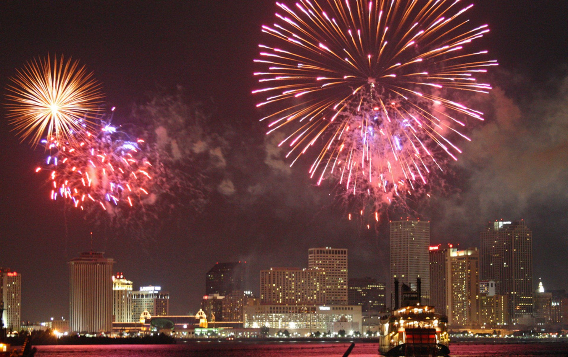 4th of July Weekend Events & Fireworks in New Orleans - Best Time