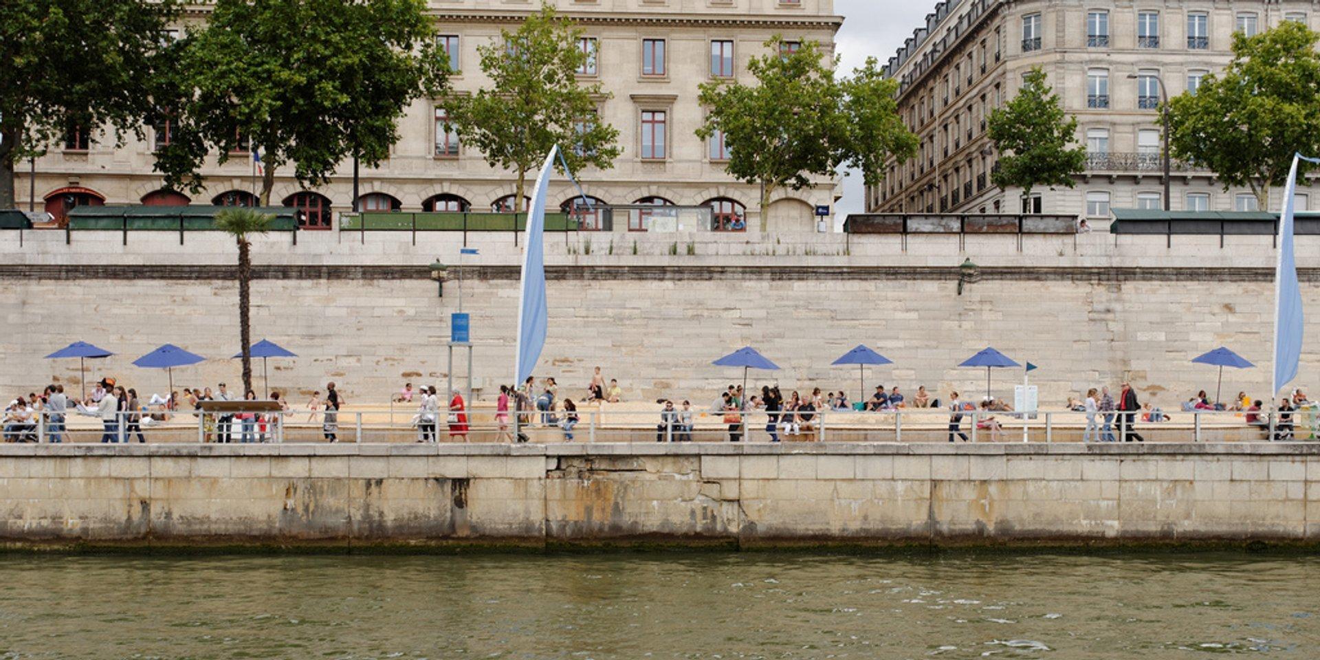 Beaches on the Seine or Paris Plages in Paris - Best Season 2020