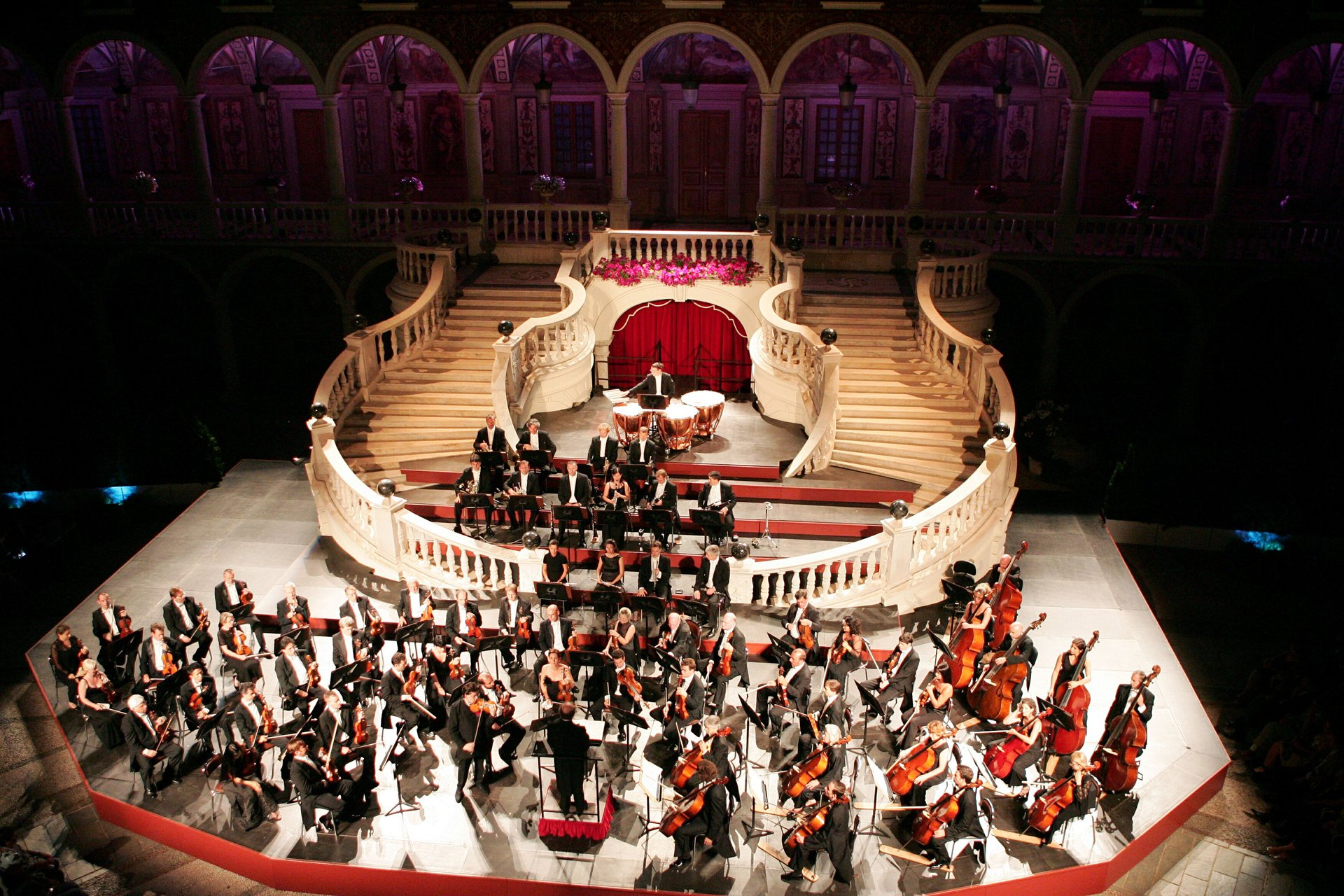 Best time for Concerts at the Prince's Palace in Monaco