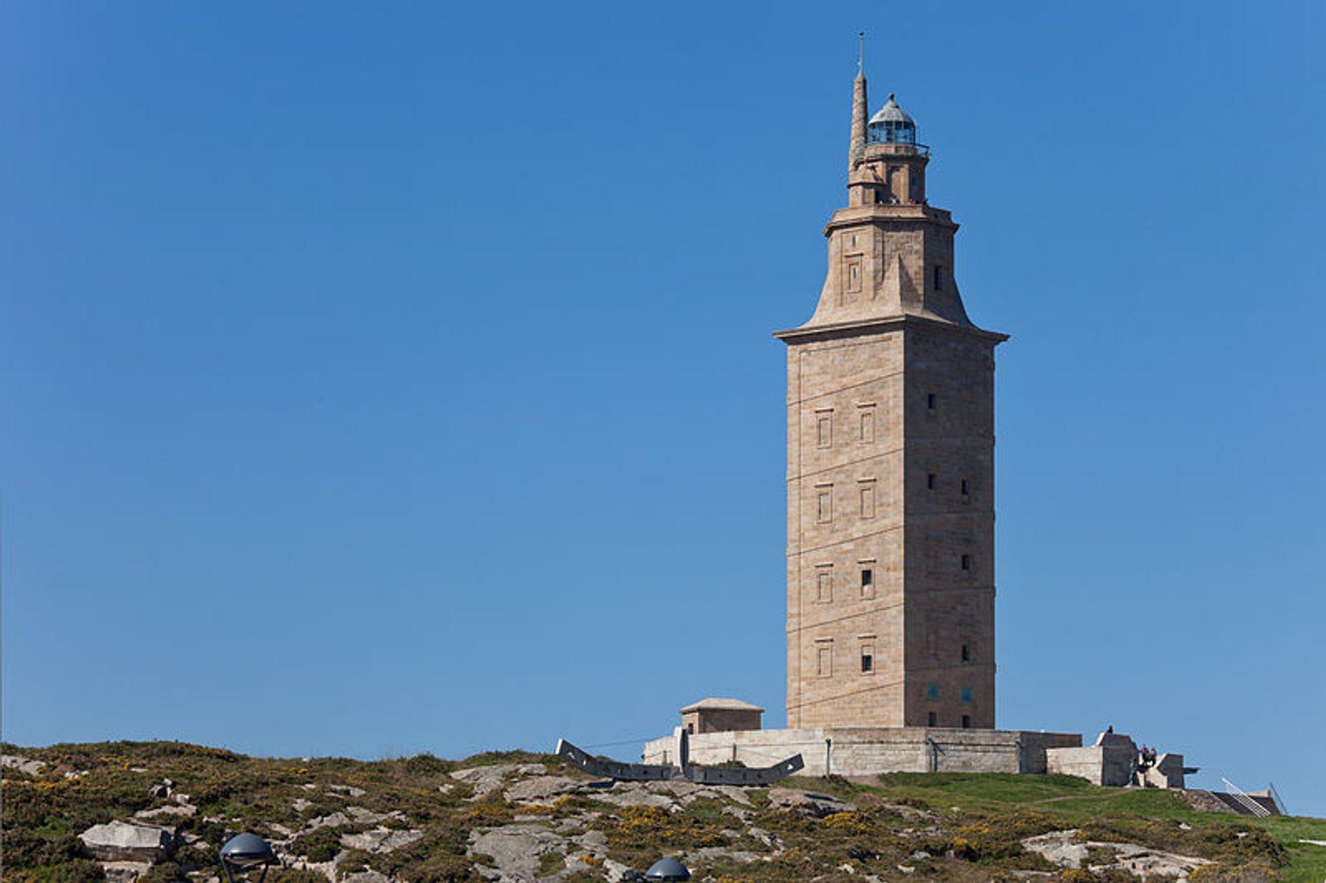 Tower of Hercules in Spain - Best Season