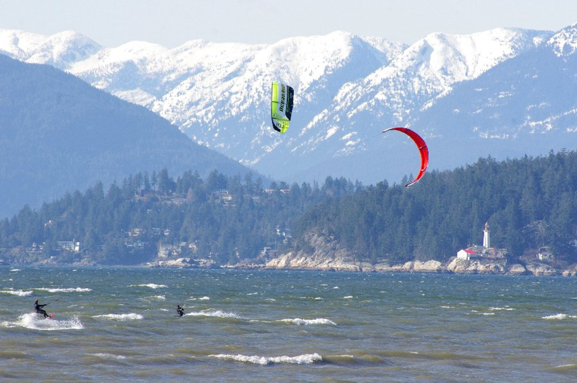 Best time to see Windsurfing & Kiteboarding in Vancouver 2020