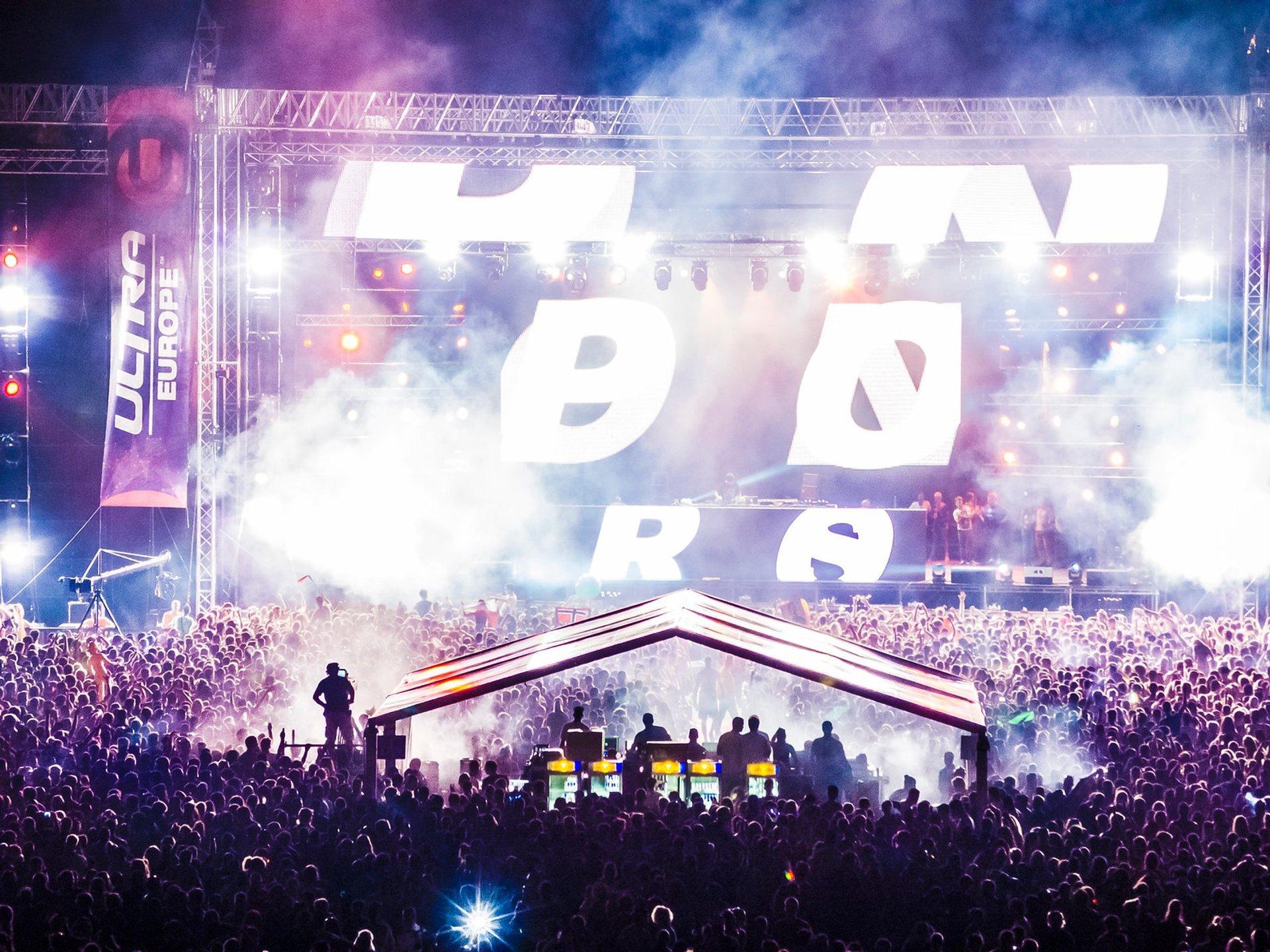 Ultra Europe Music Festival in Croatia 2020 - Best Time