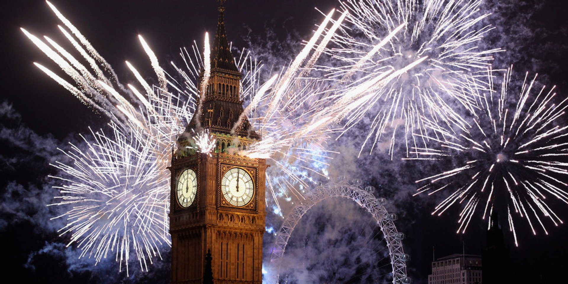 New Year's Eve in England 2019 - Best Time