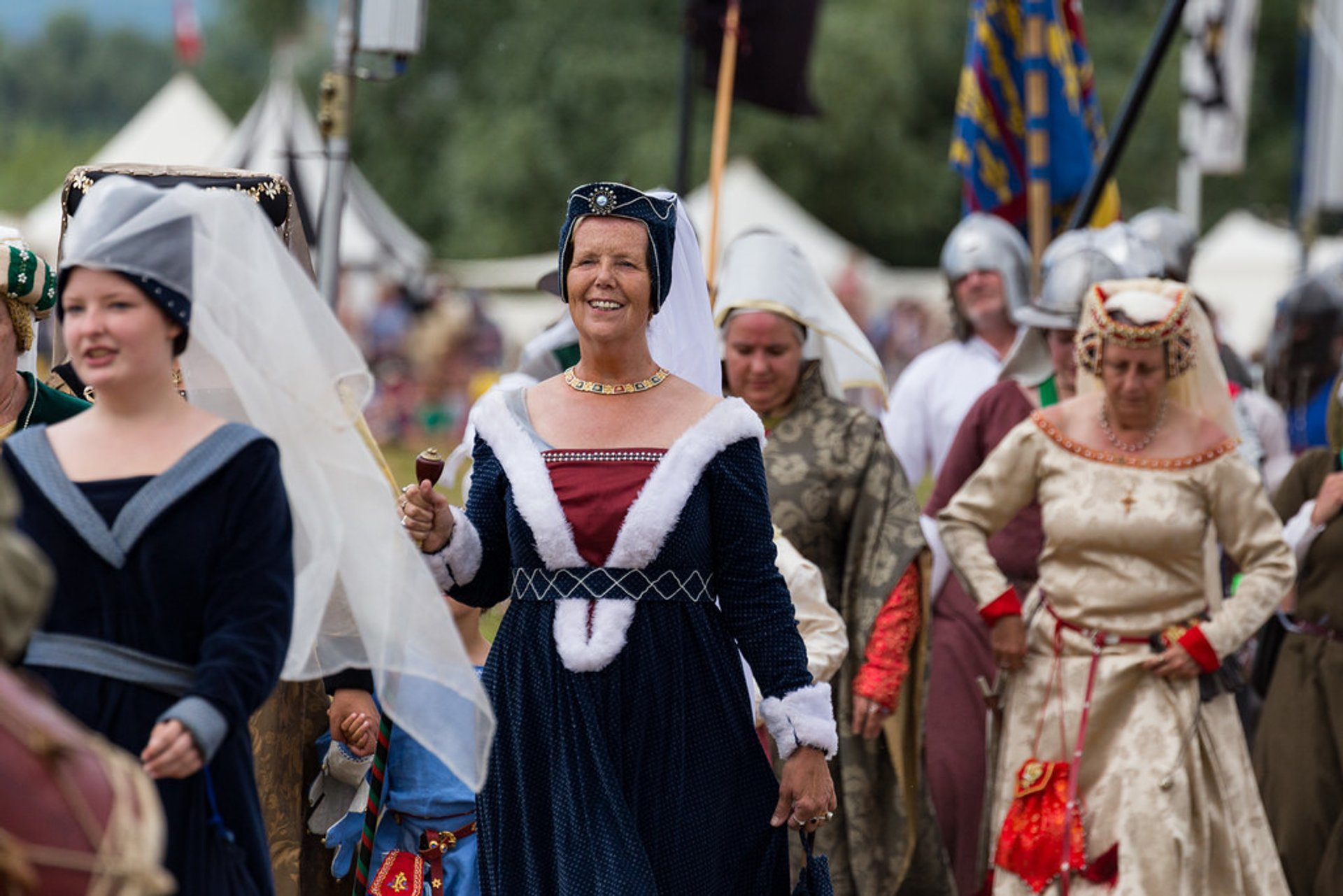 Best time for Tewkesbury Medieval Festival in England 2019