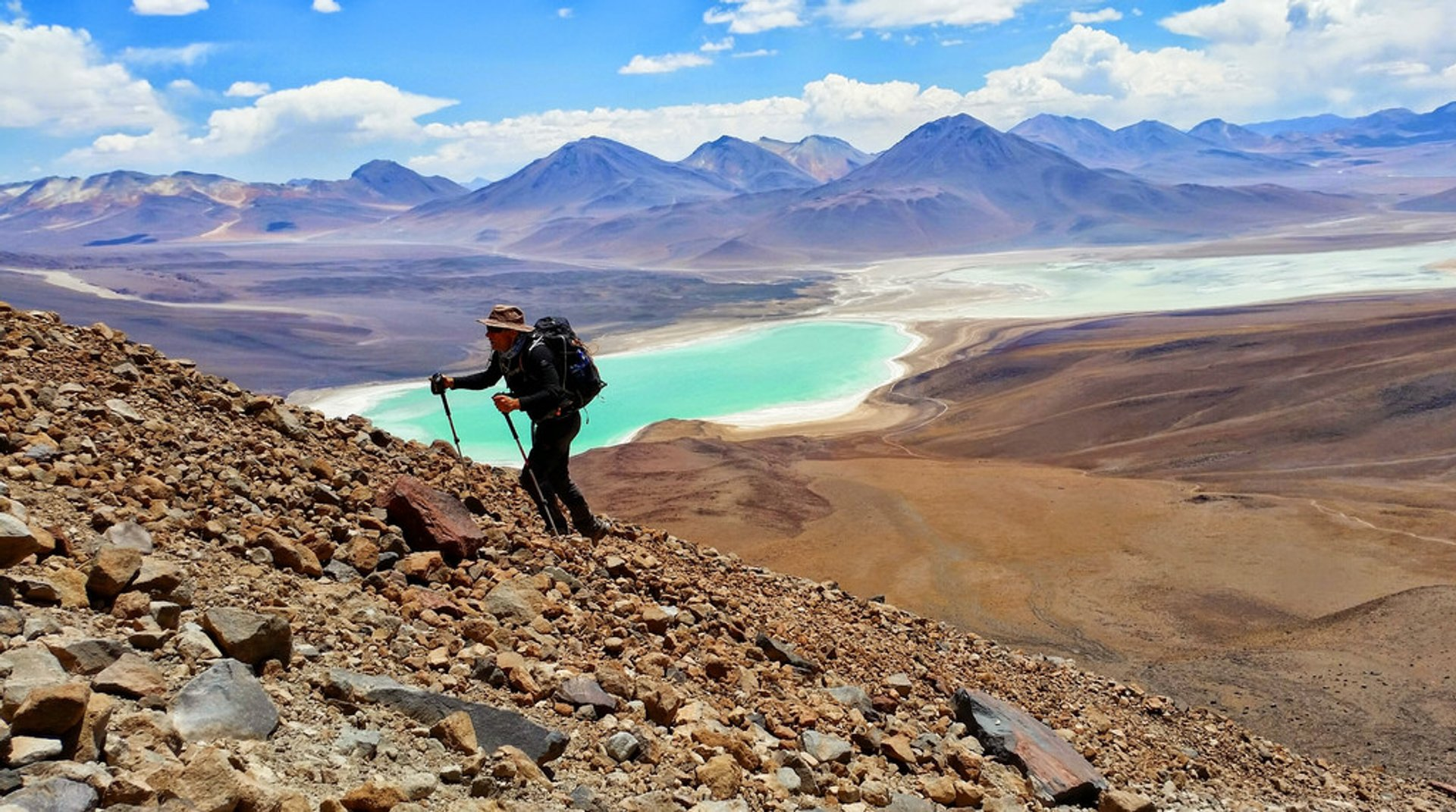 Laguna Verde in Bolivia - Best Season 2019