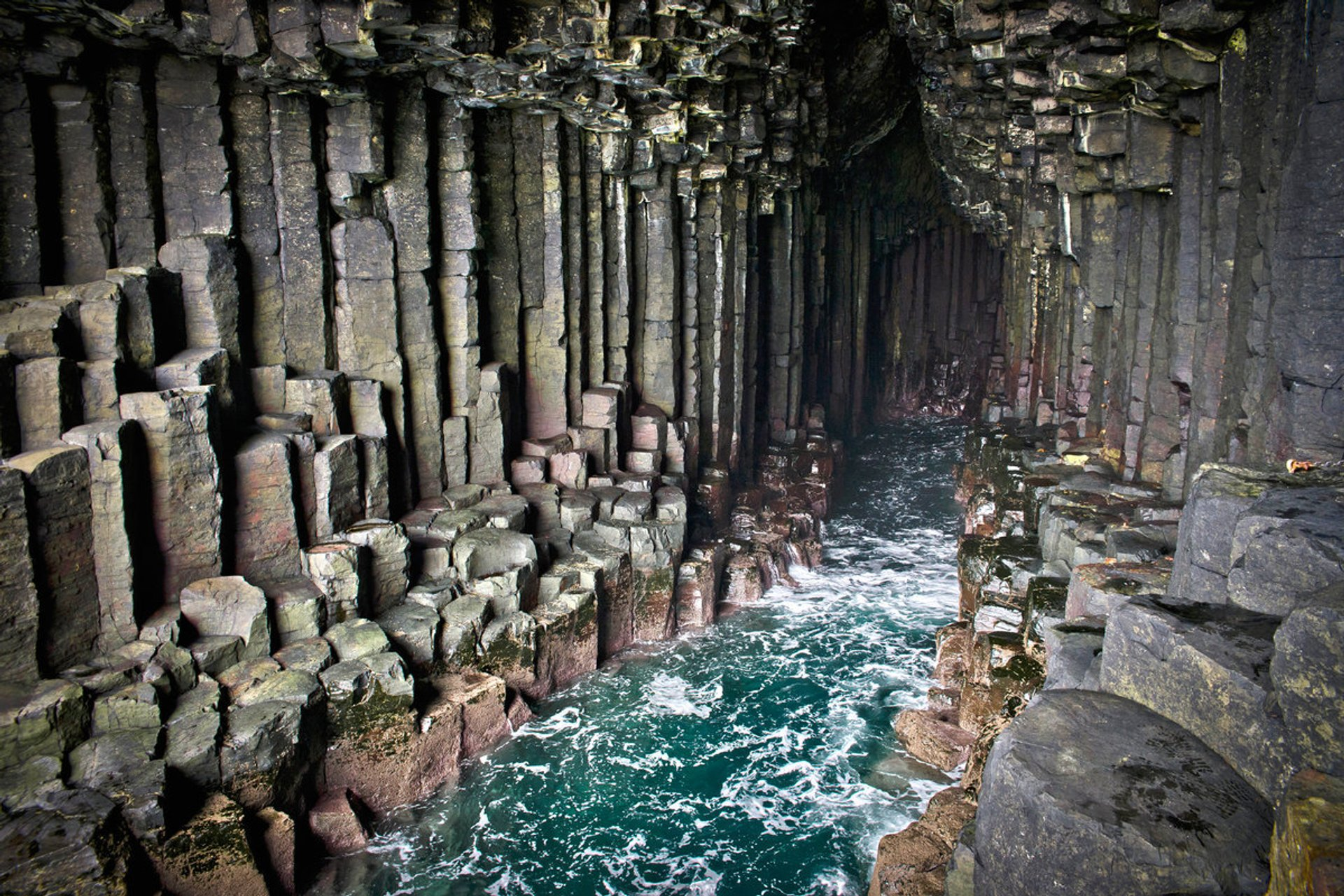 Fingals Cave on Staffa Island 2020