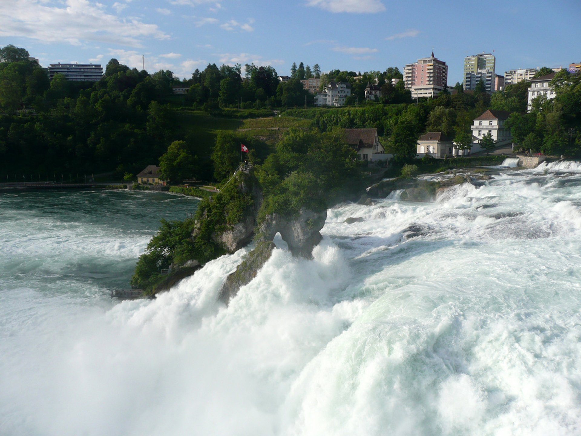 The Rhine Falls in Switzerland 2019 - Best Time