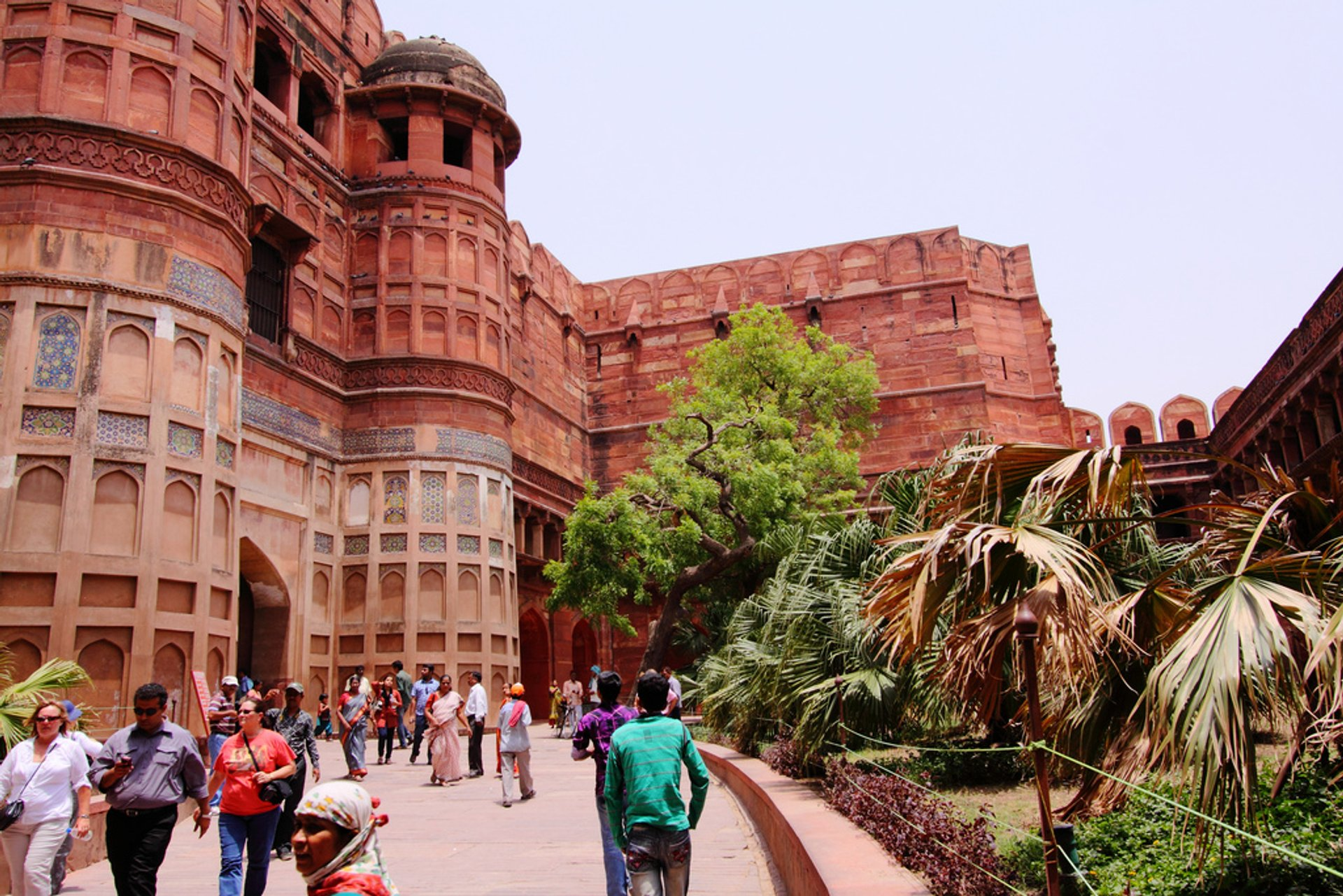 Agra Fort in Taj Mahal and Agra  - Best Season 2020