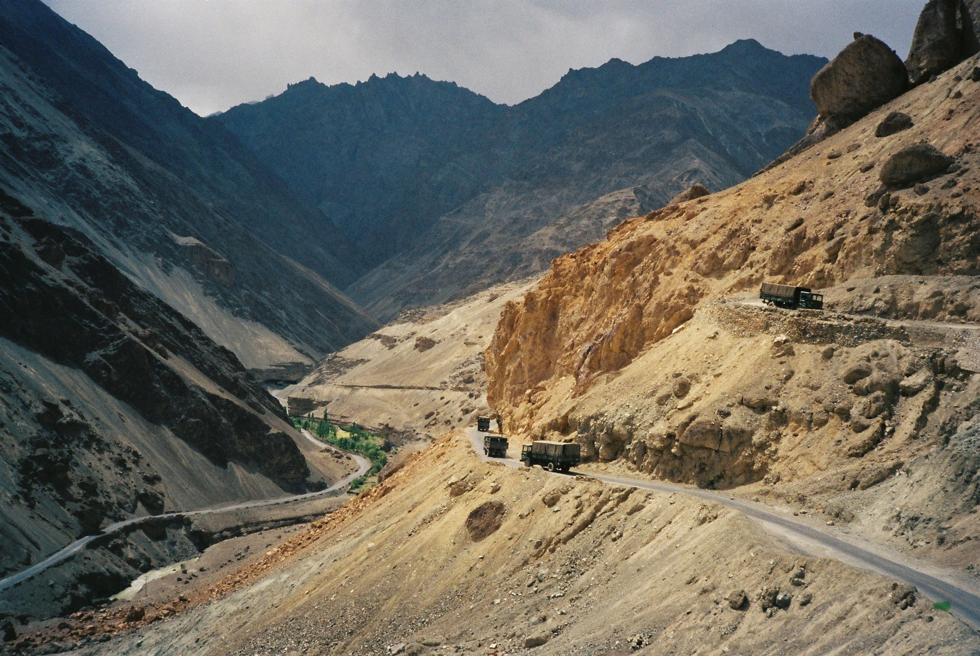 Approaching the Oasis - Ladakh 2020