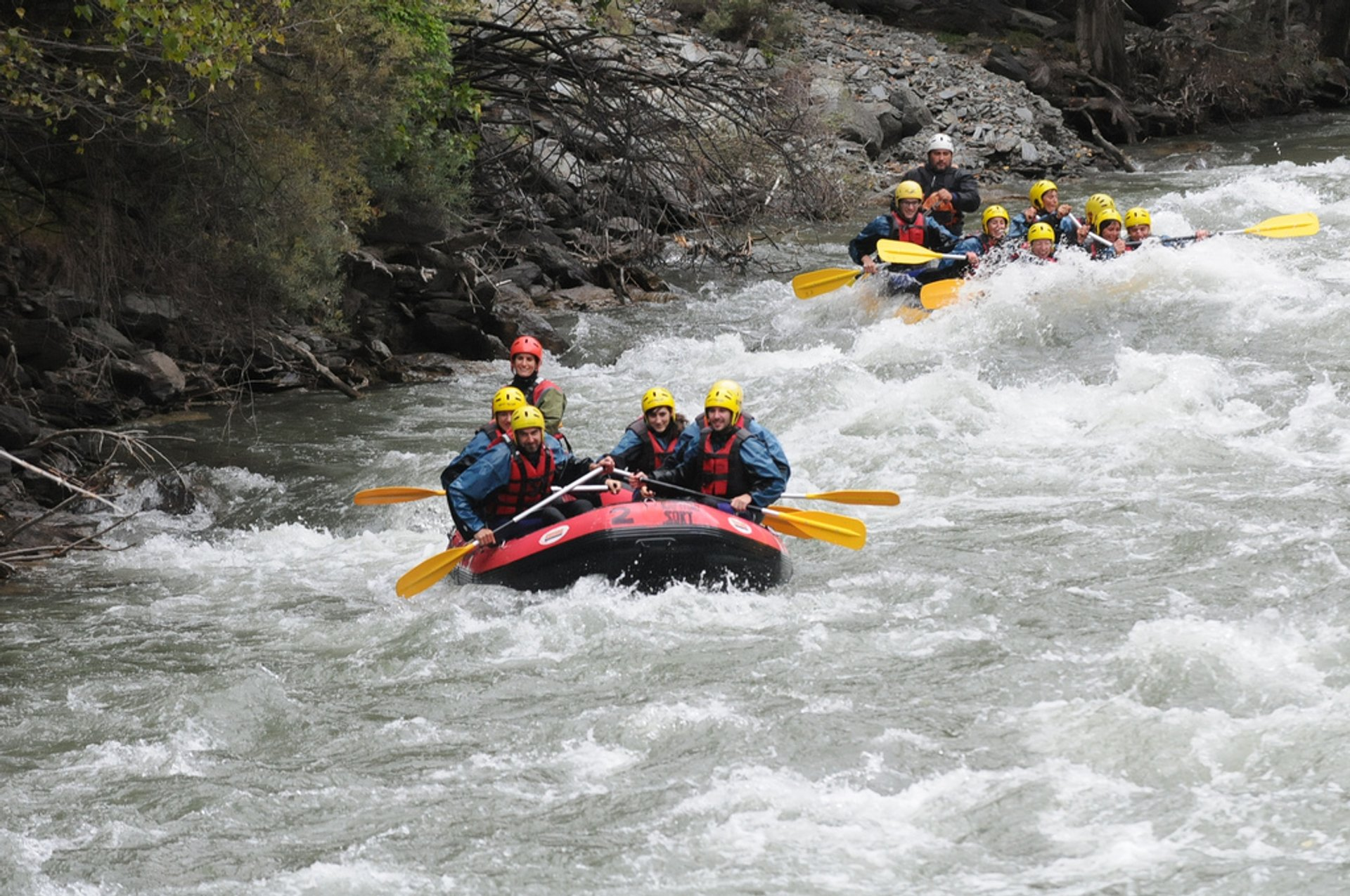 Best time for White Water Rafting in Spain 2020