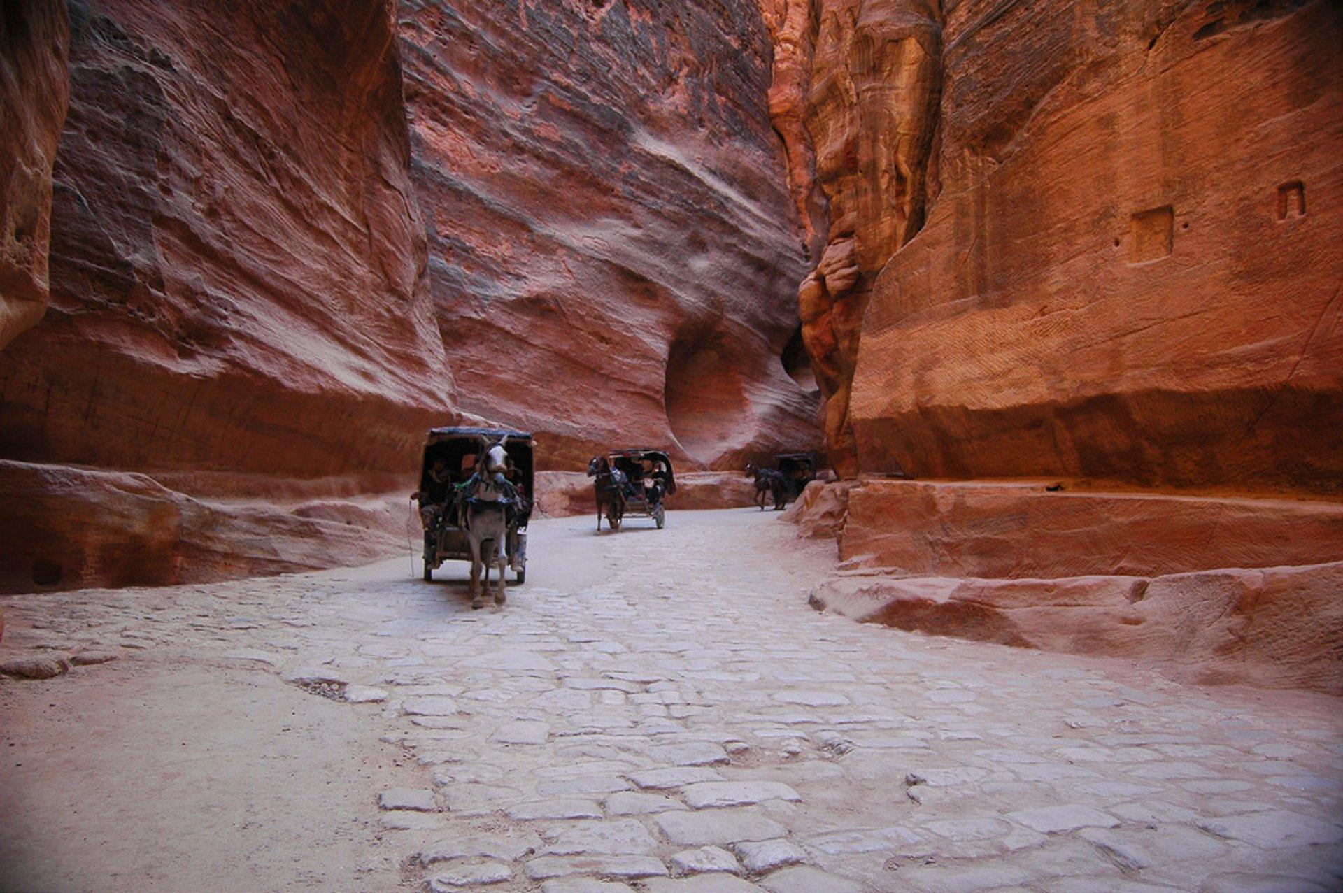 Ancient City of Petra in Jordan - Best Season