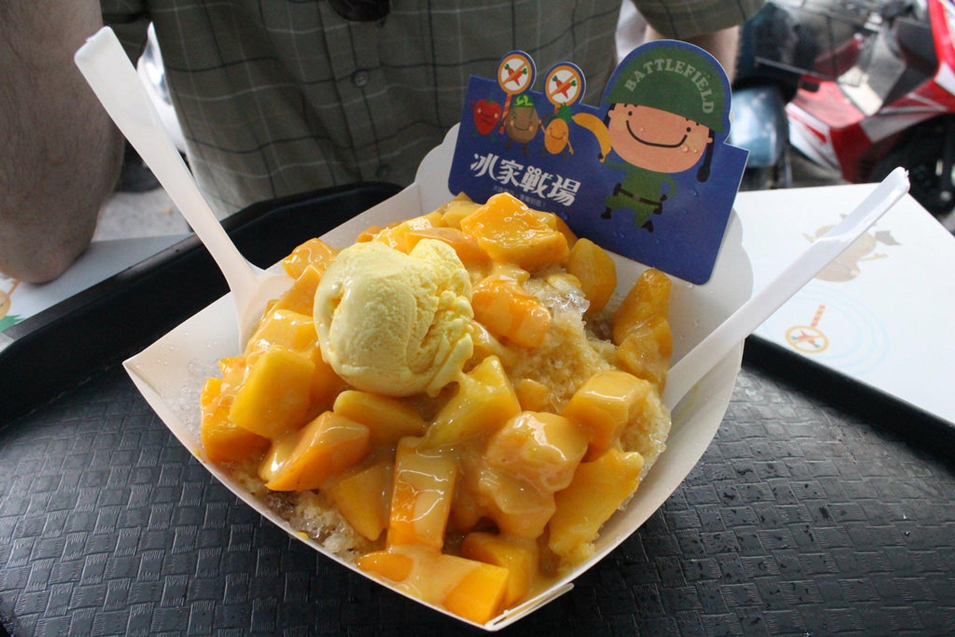 Mango baobing, a delicious dessert 2020