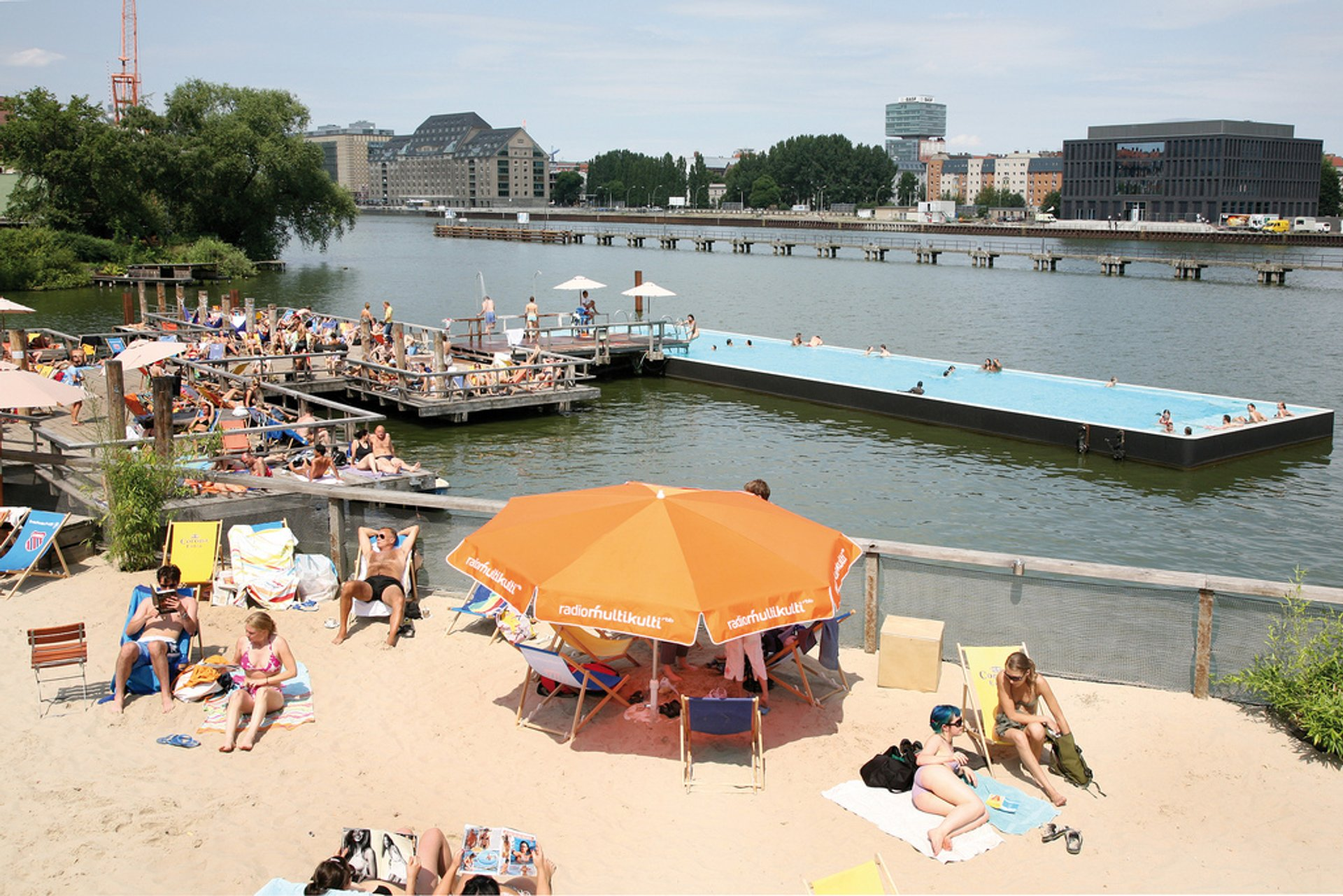 Badeschiff Bathing Season in Berlin - Best Season 2020