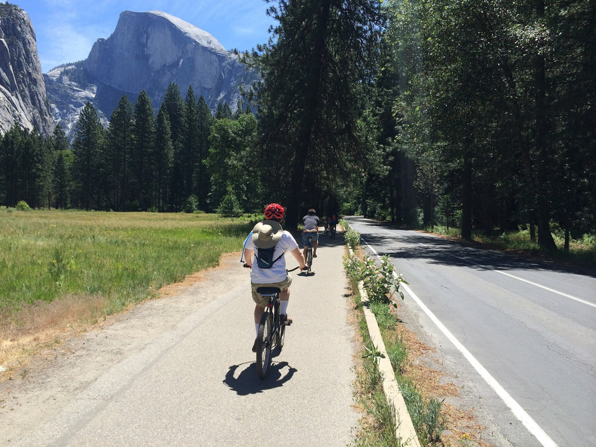 Cycling in Yosemite Valley in Yosemite - Best Season 2020
