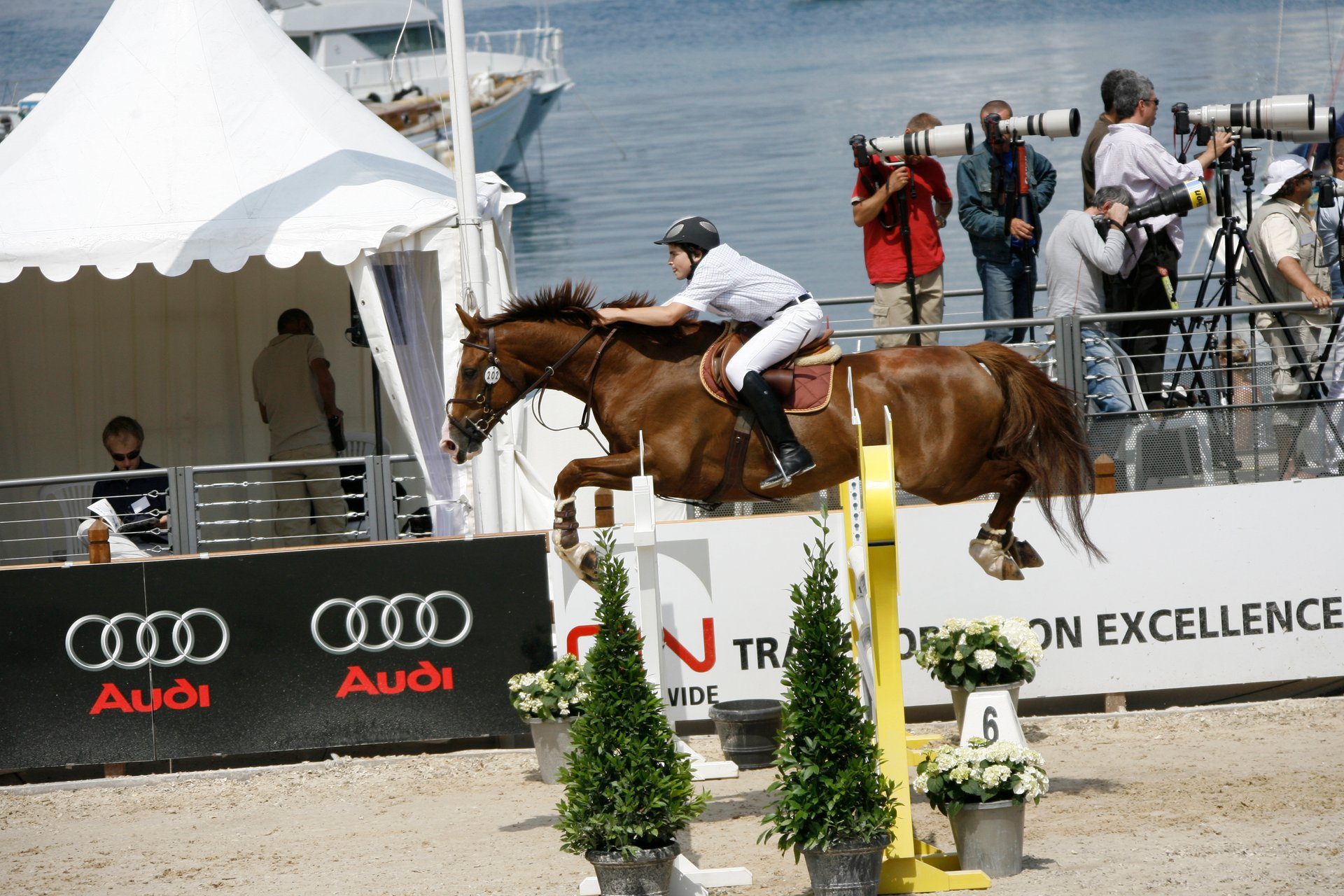 Monte-Carlo International Jumping in Monaco - Best Time
