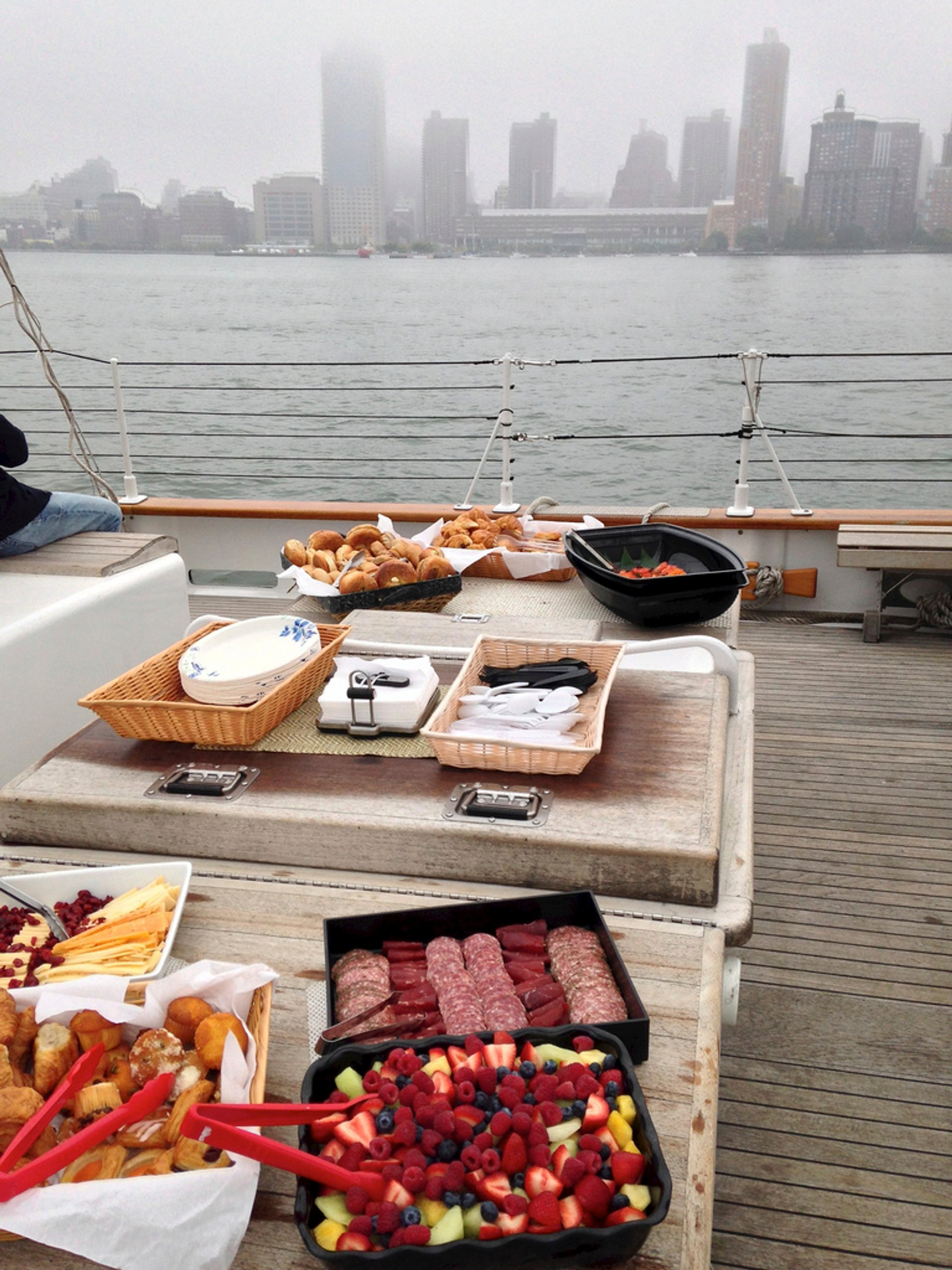 Brunch on a boat 2020