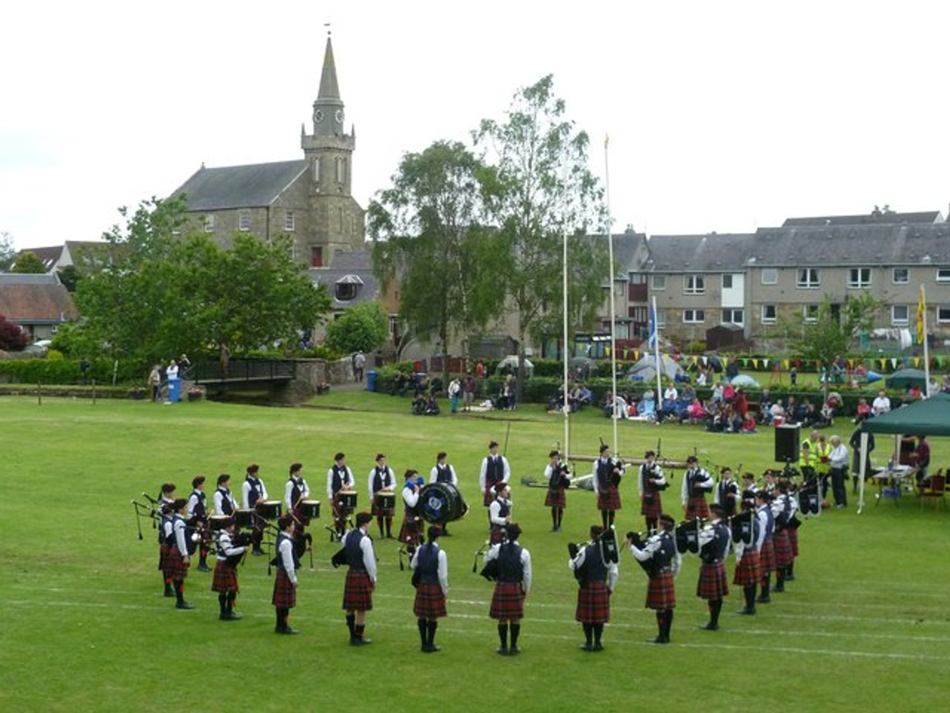 Best time for Ceres Highland Games in Edinburgh 2020