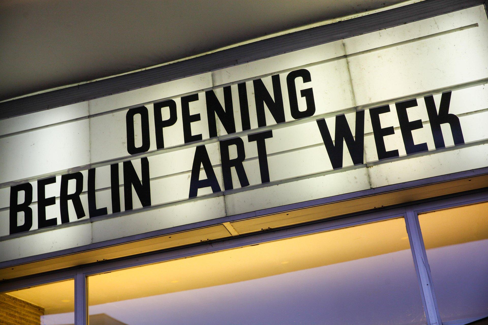 Berlin Art Week in Berlin - Best Season 2020