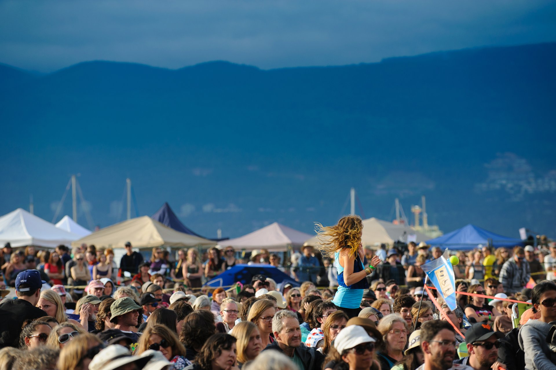 Best time for Vancouver Folk Music Festival in Vancouver