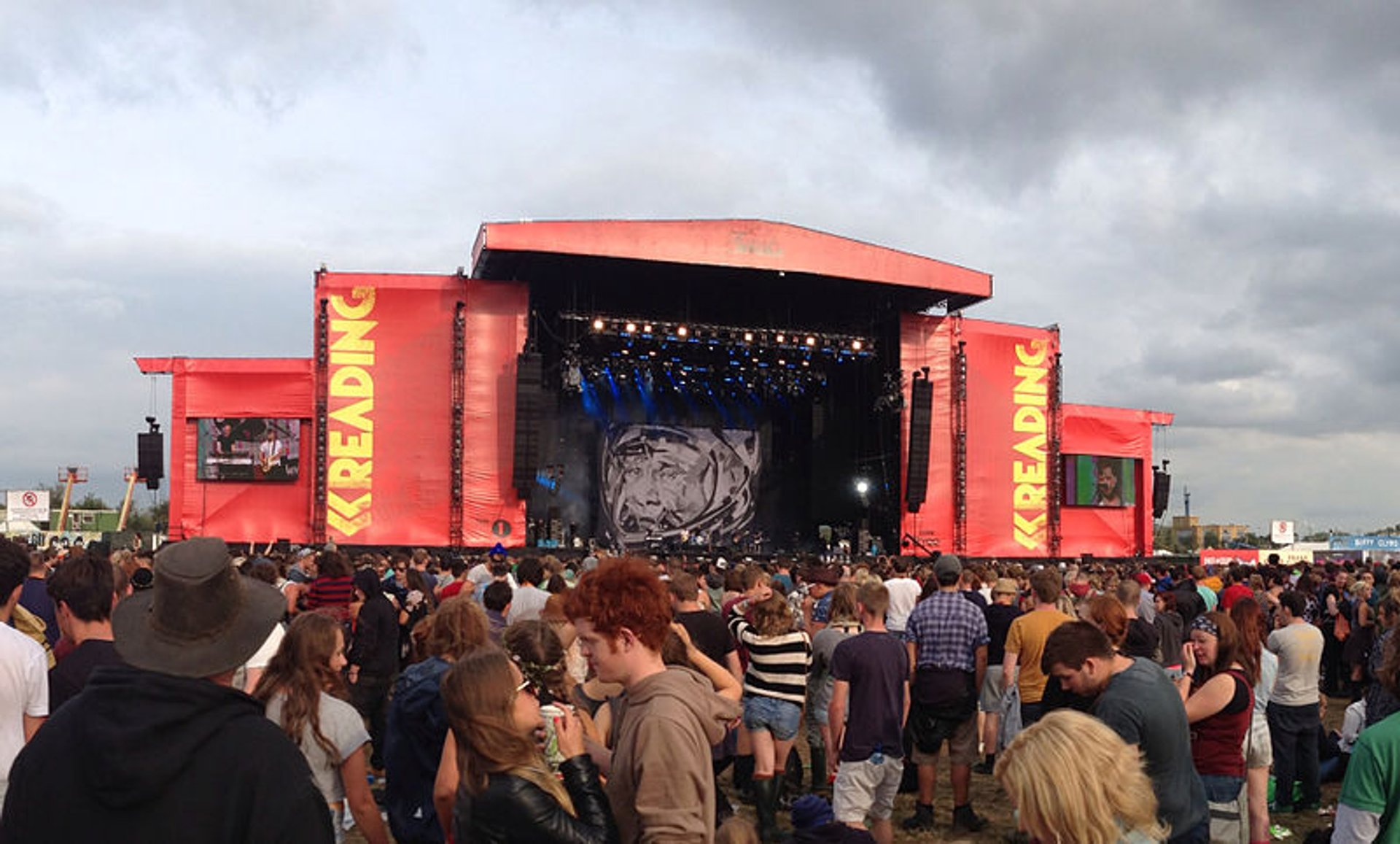 Main stage at the Reading Festival 2019
