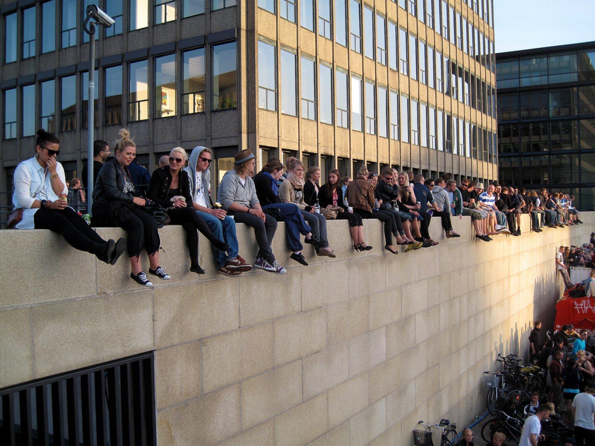 Best time for Distortion in Copenhagen 2020