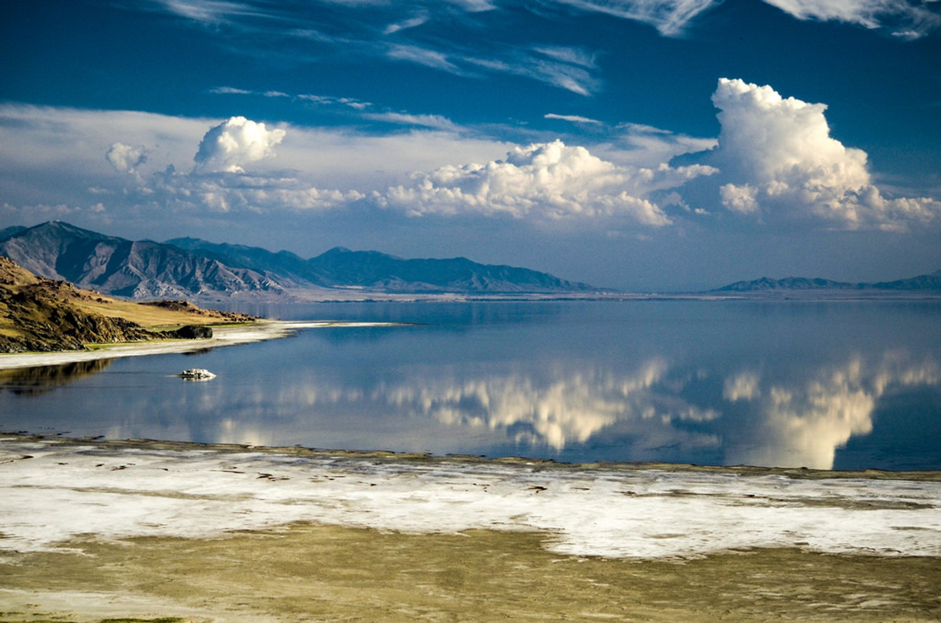 The Great Salt Lake in Utah - Best Season