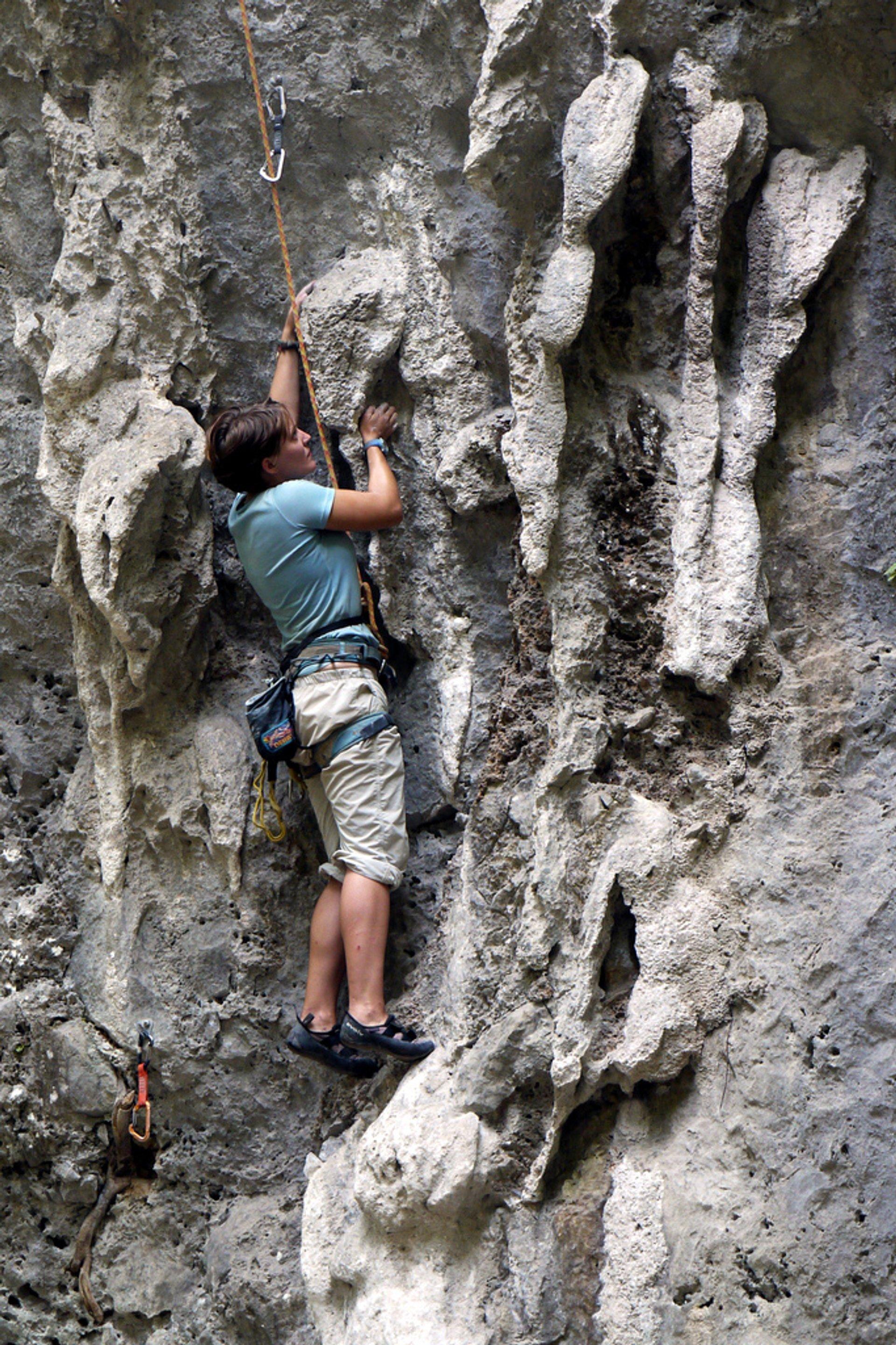 Climbing in Laos - Best Season