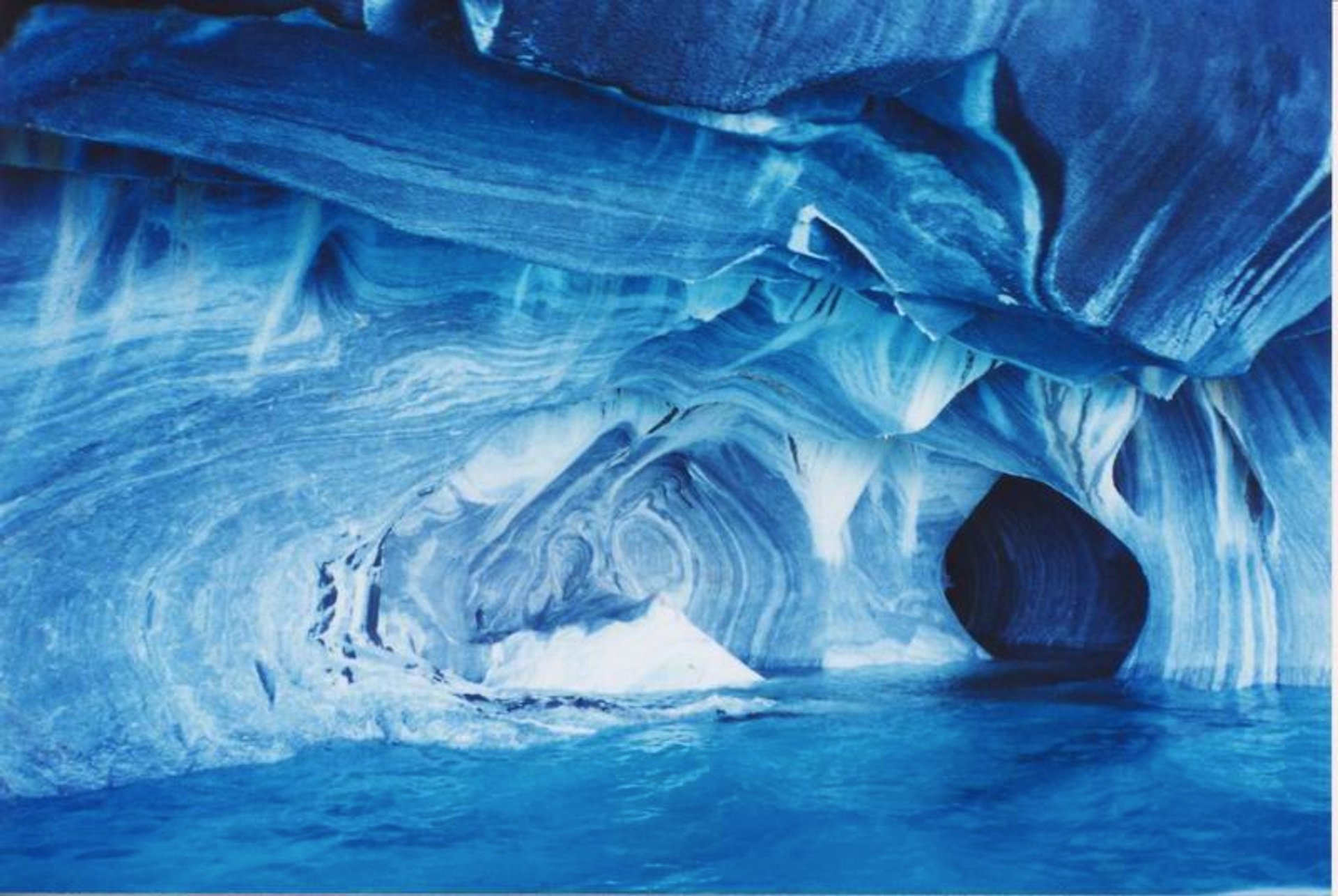 Marble Caves or Cuevas de Mármol in Chile - Best Season