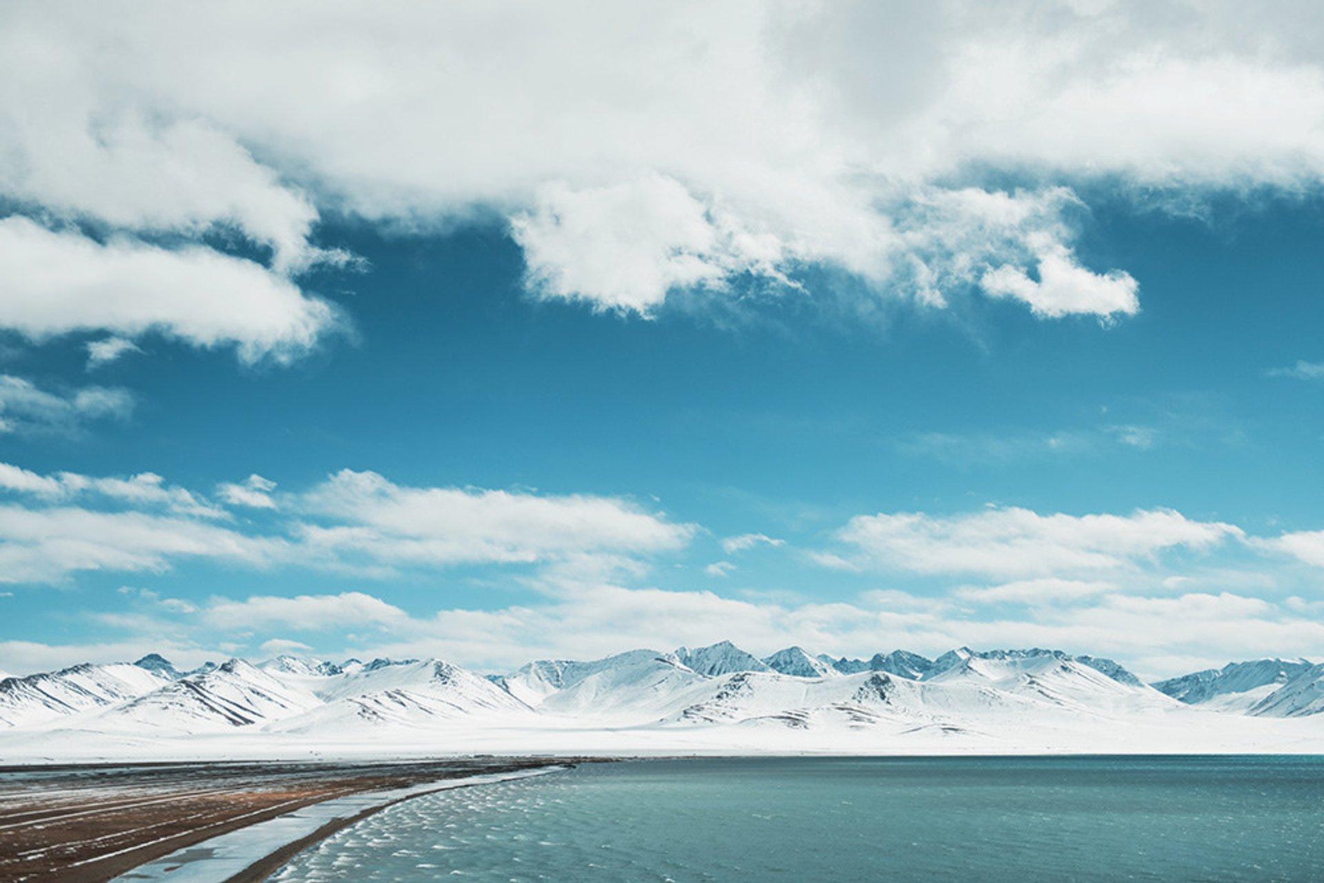 Namtso lake, Tibet 2020